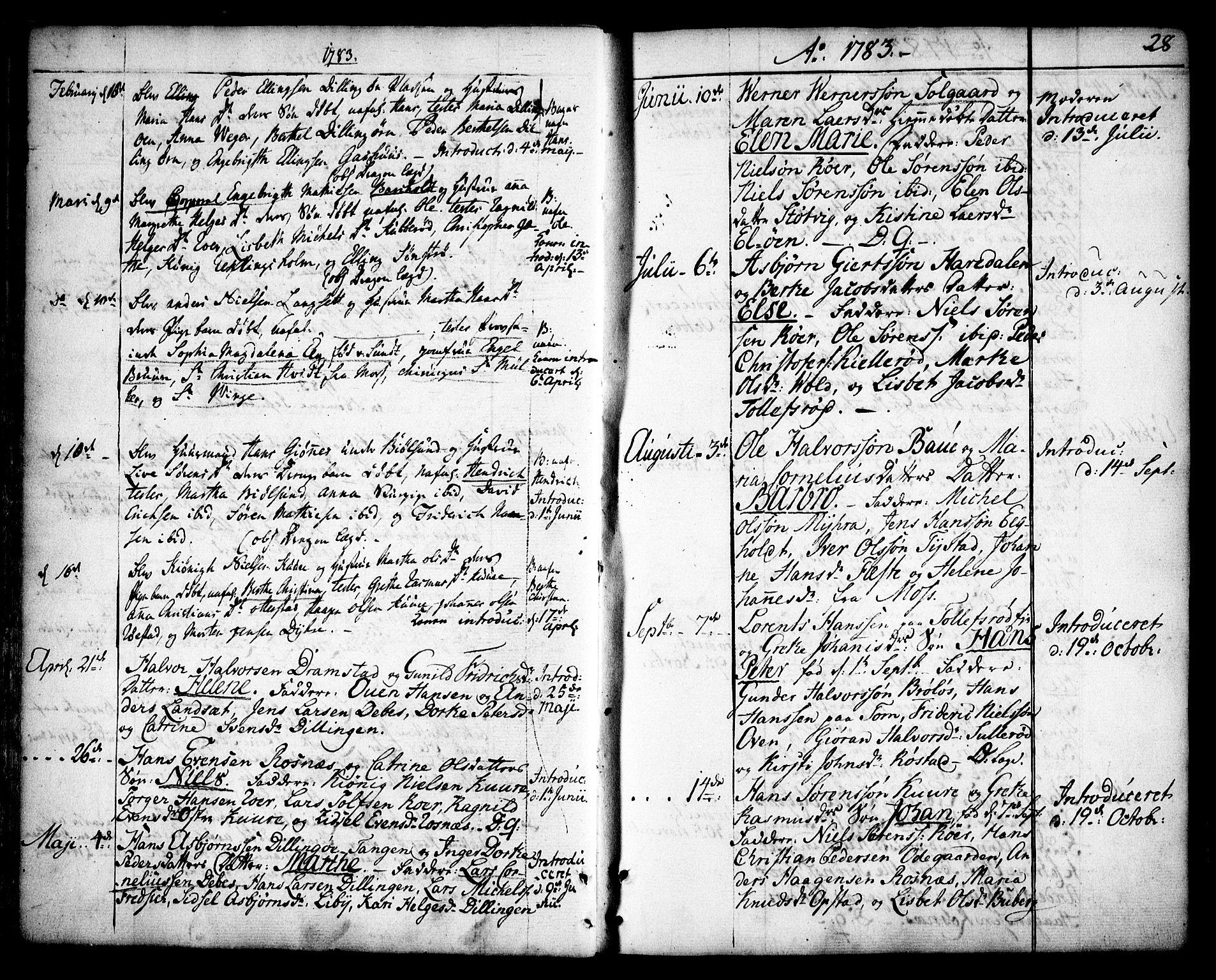 SAO, Rygge prestekontor Kirkebøker, F/Fa/L0002: Ministerialbok nr. 2, 1771-1814, s. 28