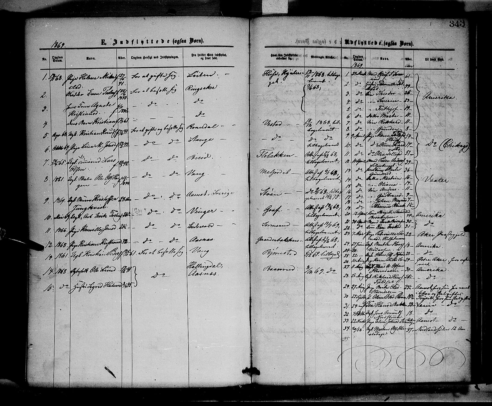 SAH, Elverum prestekontor, H/Ha/Haa/L0011: Ministerialbok nr. 11, 1869-1879, s. 343