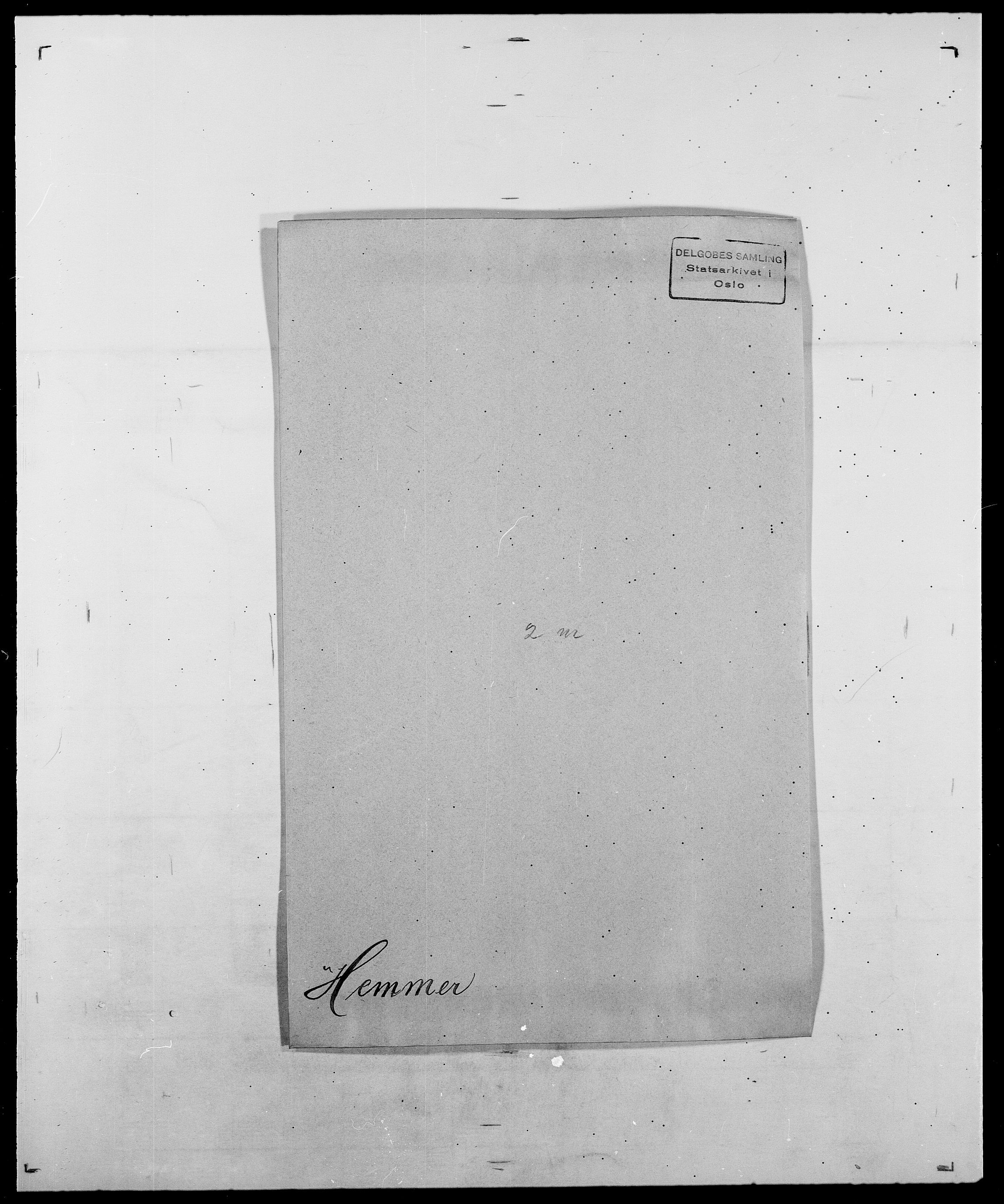 SAO, Delgobe, Charles Antoine - samling, D/Da/L0017: Helander - Hjørne, s. 152
