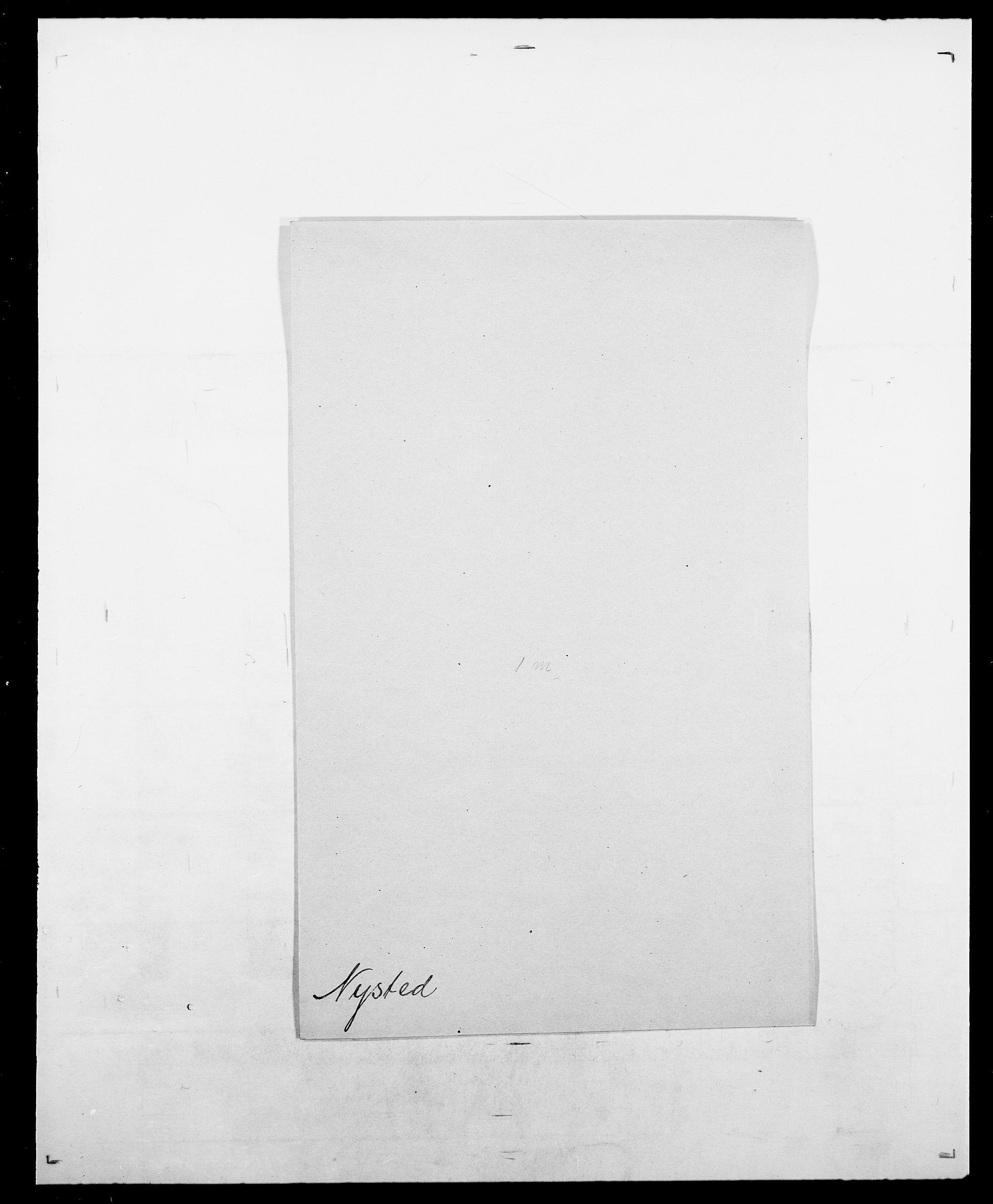 SAO, Delgobe, Charles Antoine - samling, D/Da/L0028: Naaden - Nøvik, s. 585