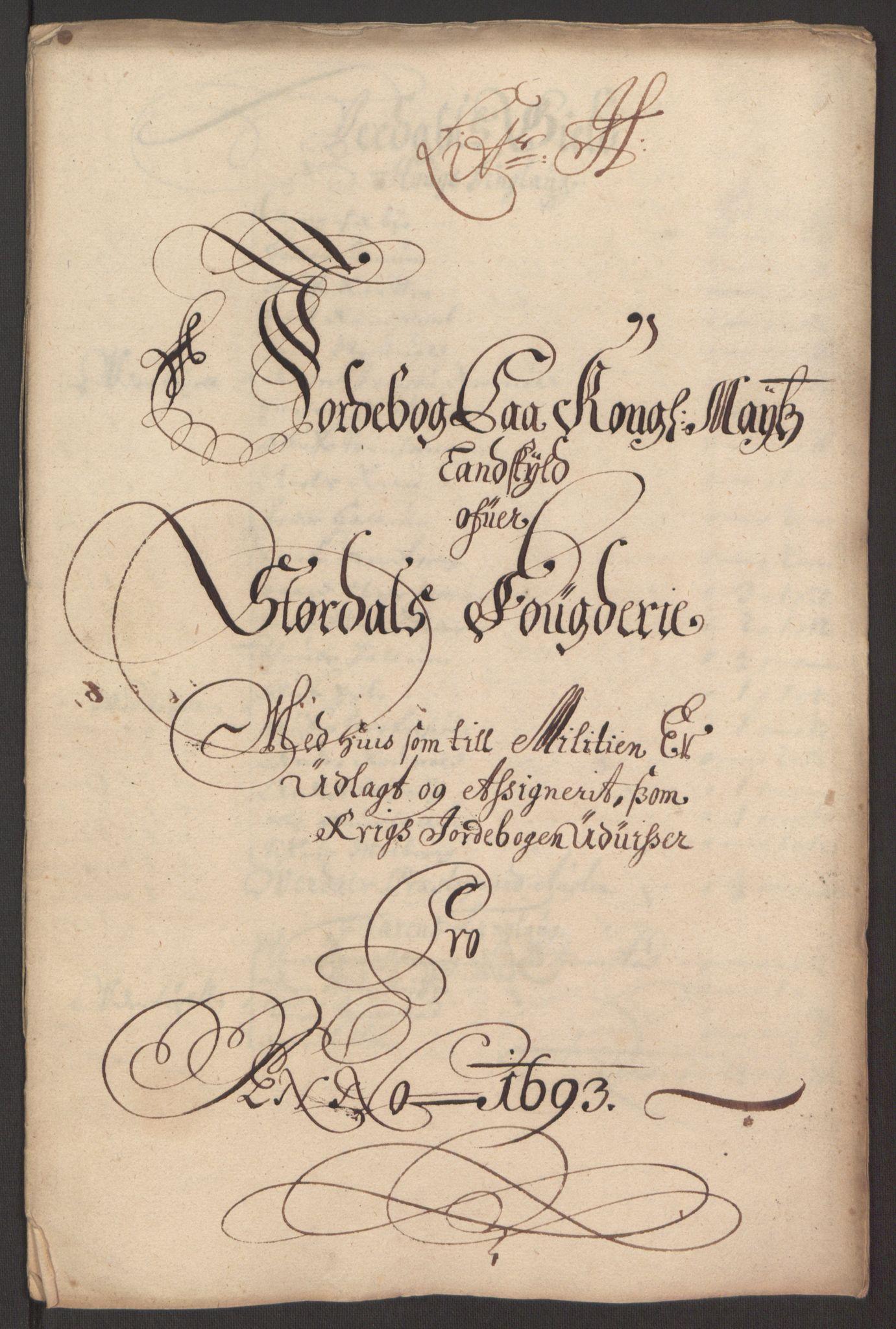 RA, Rentekammeret inntil 1814, Reviderte regnskaper, Fogderegnskap, R62/L4186: Fogderegnskap Stjørdal og Verdal, 1693-1694, s. 112