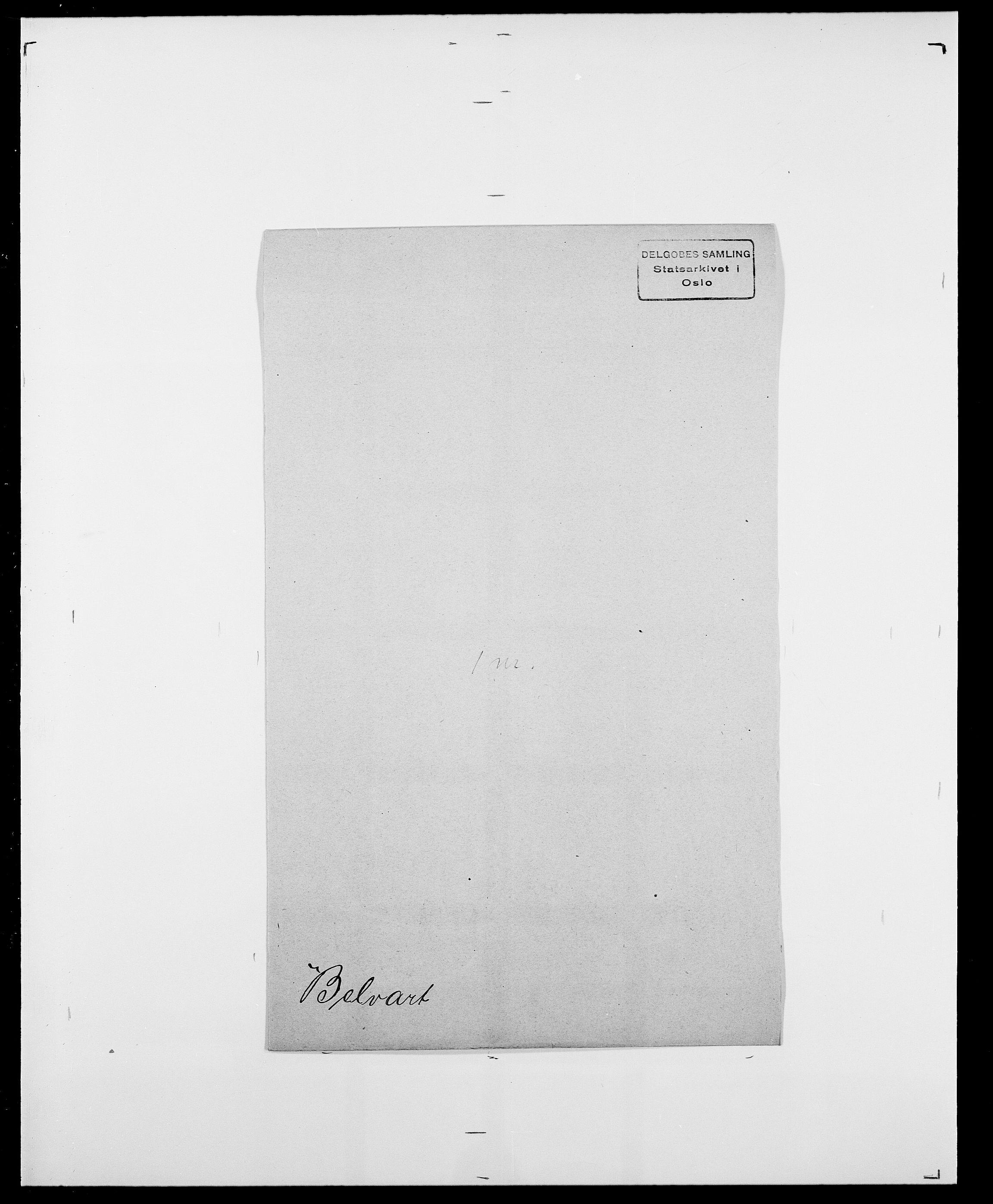 SAO, Delgobe, Charles Antoine - samling, D/Da/L0003: Barca - Bergen, s. 729
