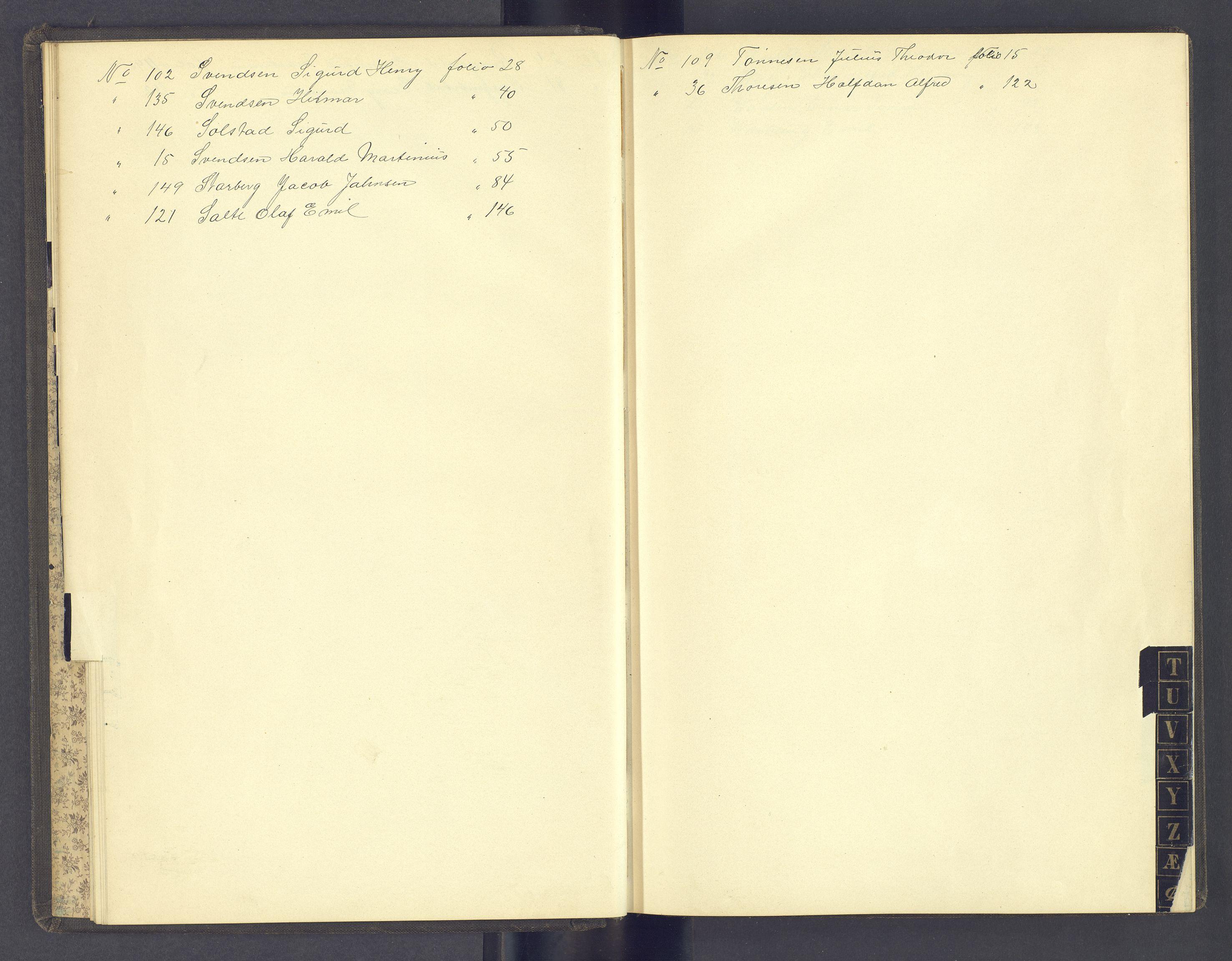 SAH, Toftes Gave, F/Fc/L0005: Elevprotokoll, 1897-1900, s. upaginert