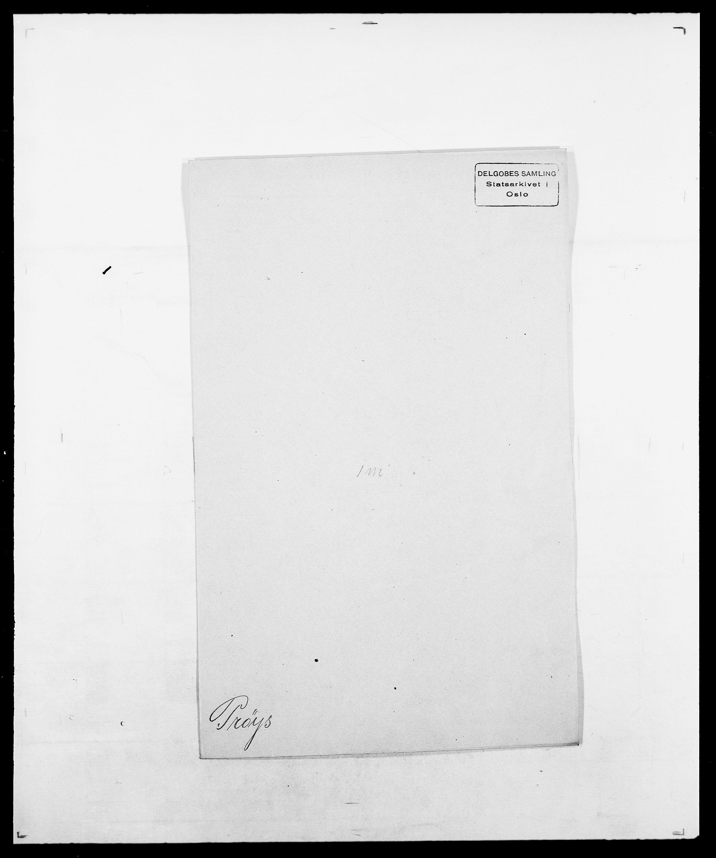 SAO, Delgobe, Charles Antoine - samling, D/Da/L0031: de Place - Raaum, s. 426