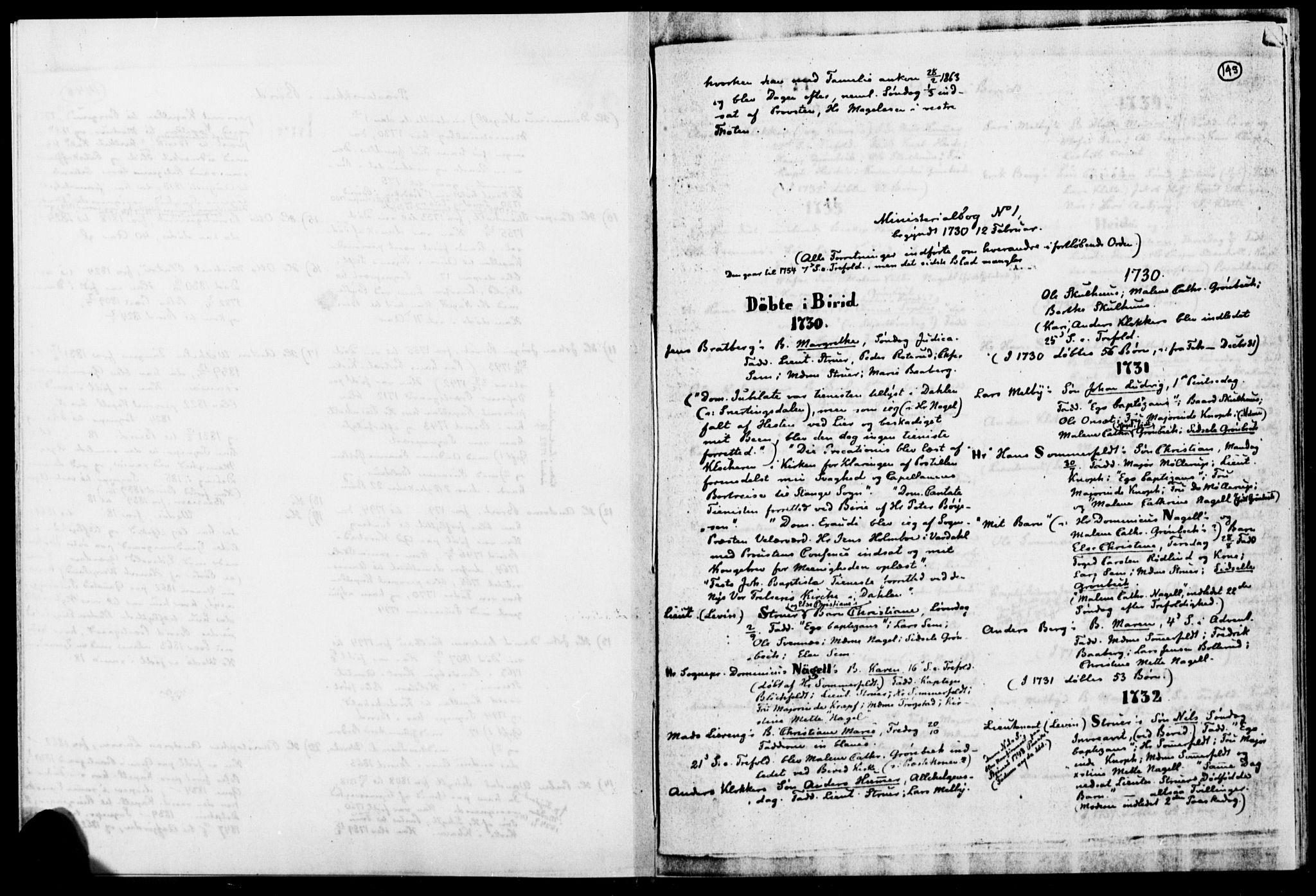 SAH, Biri prestekontor, Ministerialbok, 1730-1879, s. 145