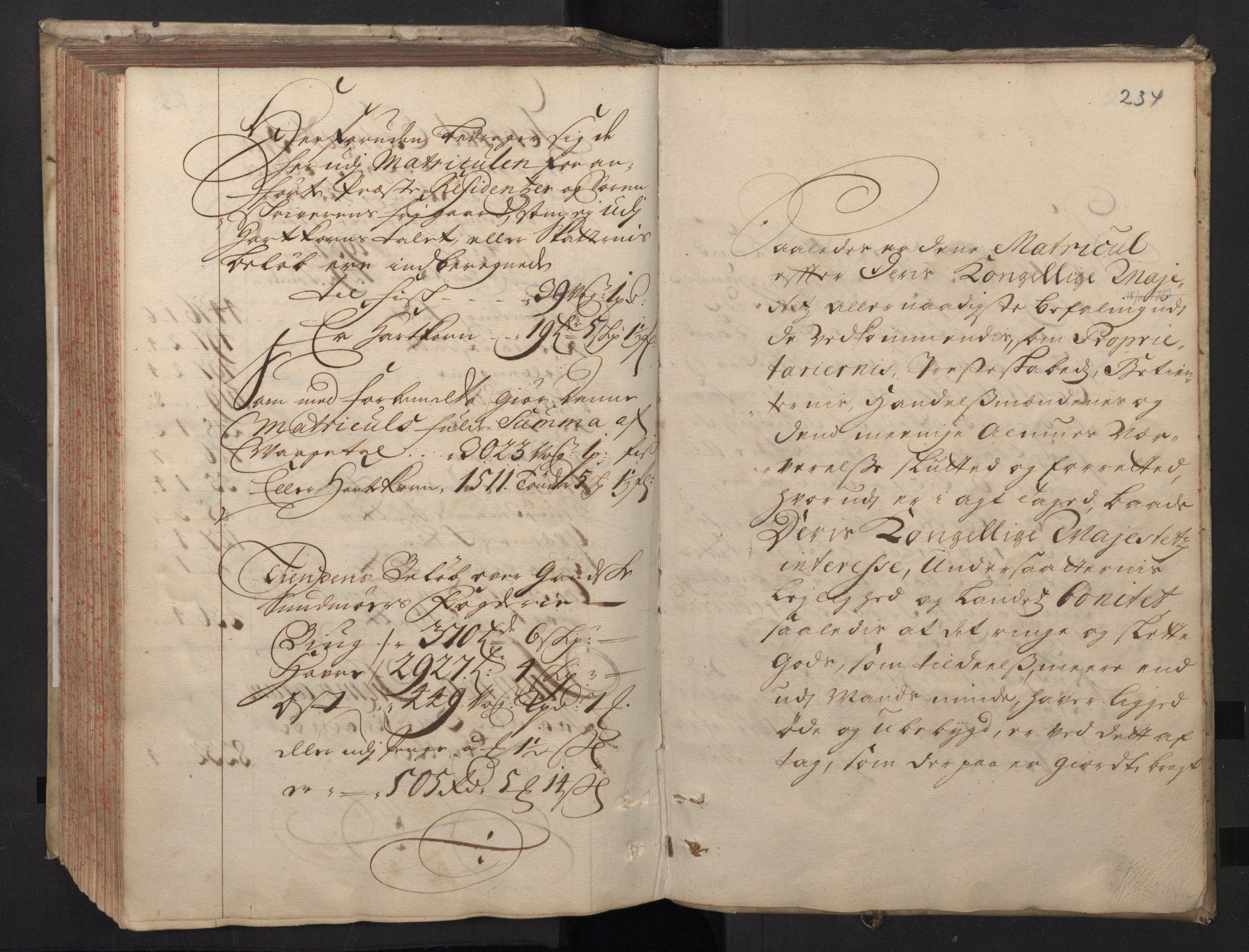 RA, Rentekammeret inntil 1814, Realistisk ordnet avdeling, N/Nb/Nbf/L0148: Sunnmøre, prøvematrikkel, 1714, s. 233b-234a