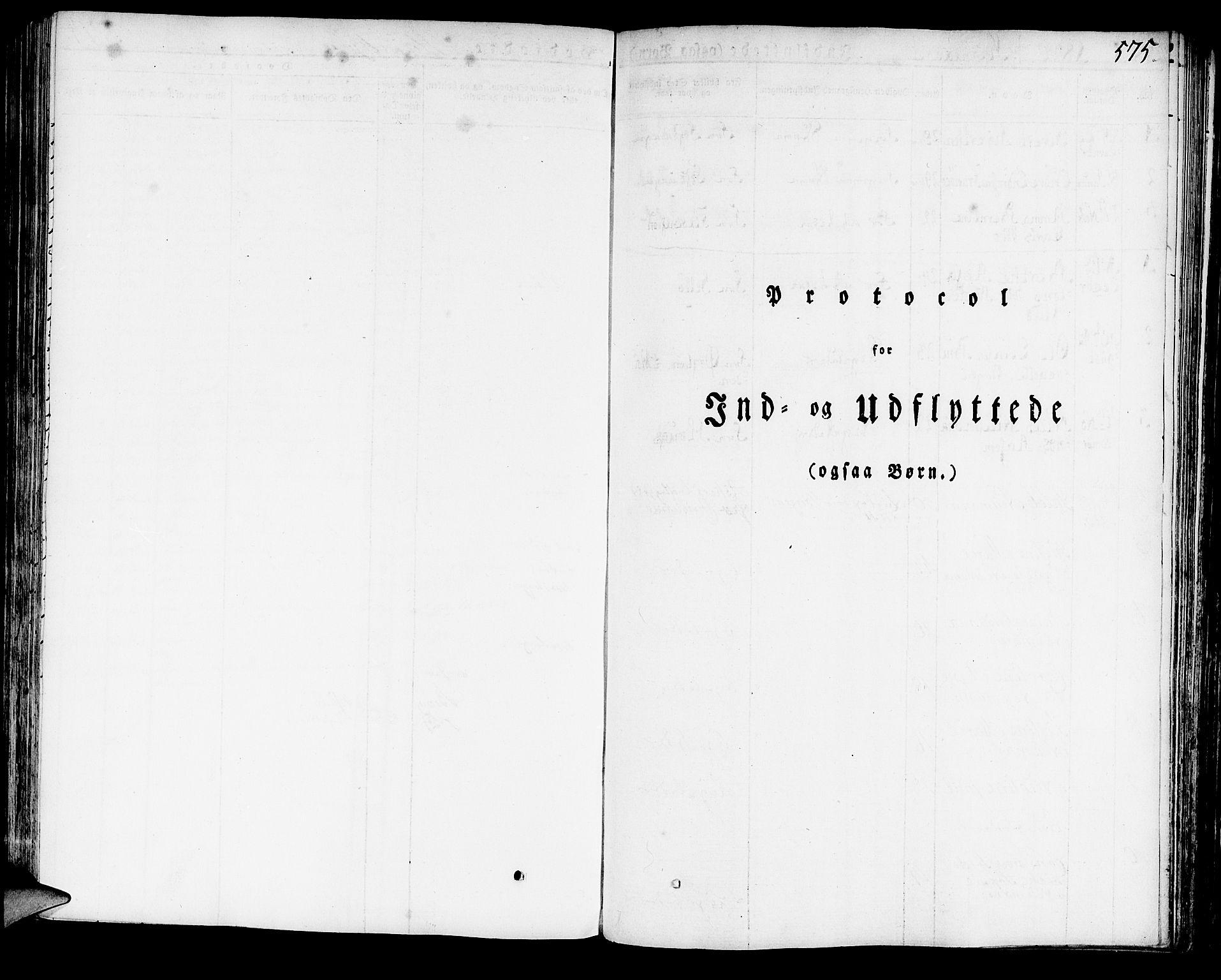 SAB, Domkirken Sokneprestembete, H/Haa/L0012: Ministerialbok nr. A 12, 1821-1840, s. 575