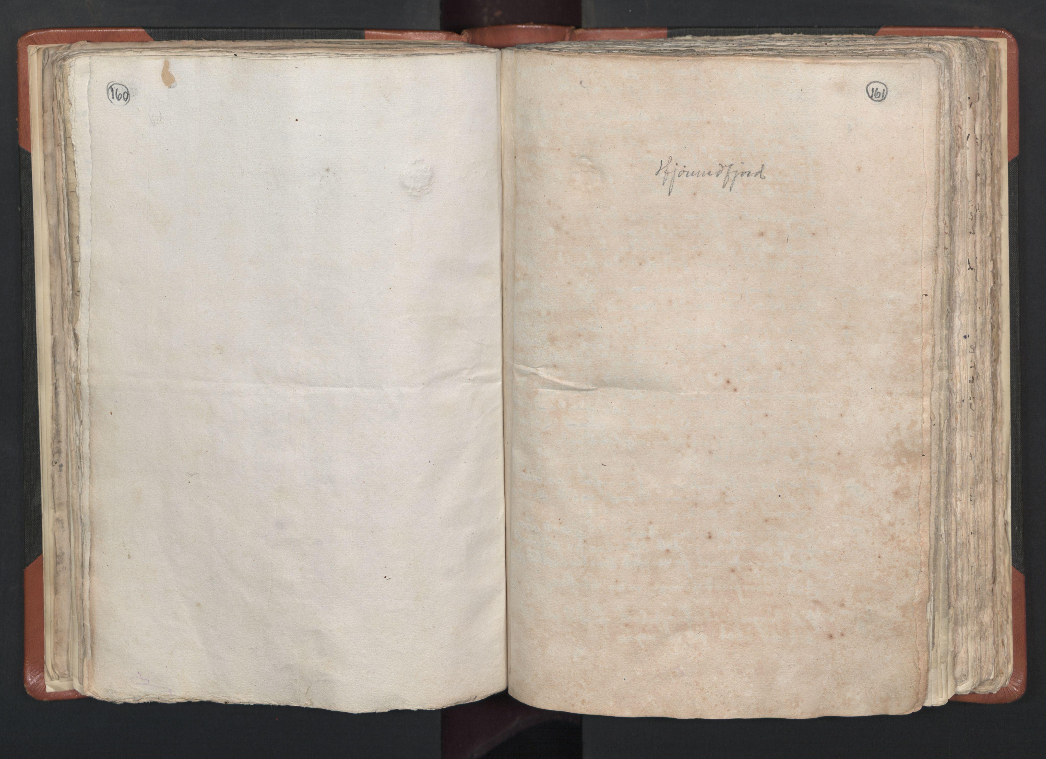 RA, Sogneprestenes manntall 1664-1666, nr. 26: Sunnmøre prosti, 1664-1666, s. 160-161