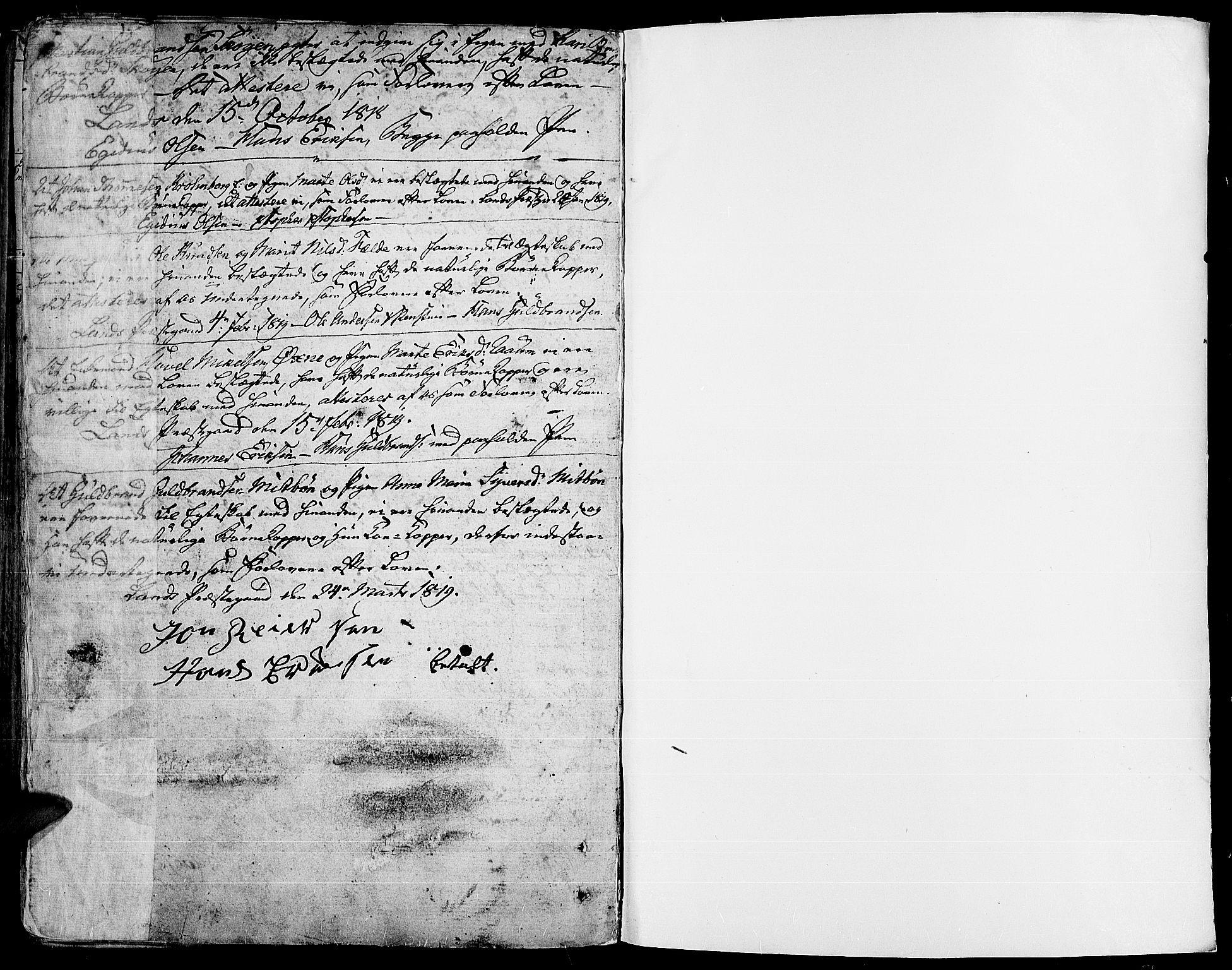 SAH, Land prestekontor, Ministerialbok nr. 6, 1784-1813, s. 189
