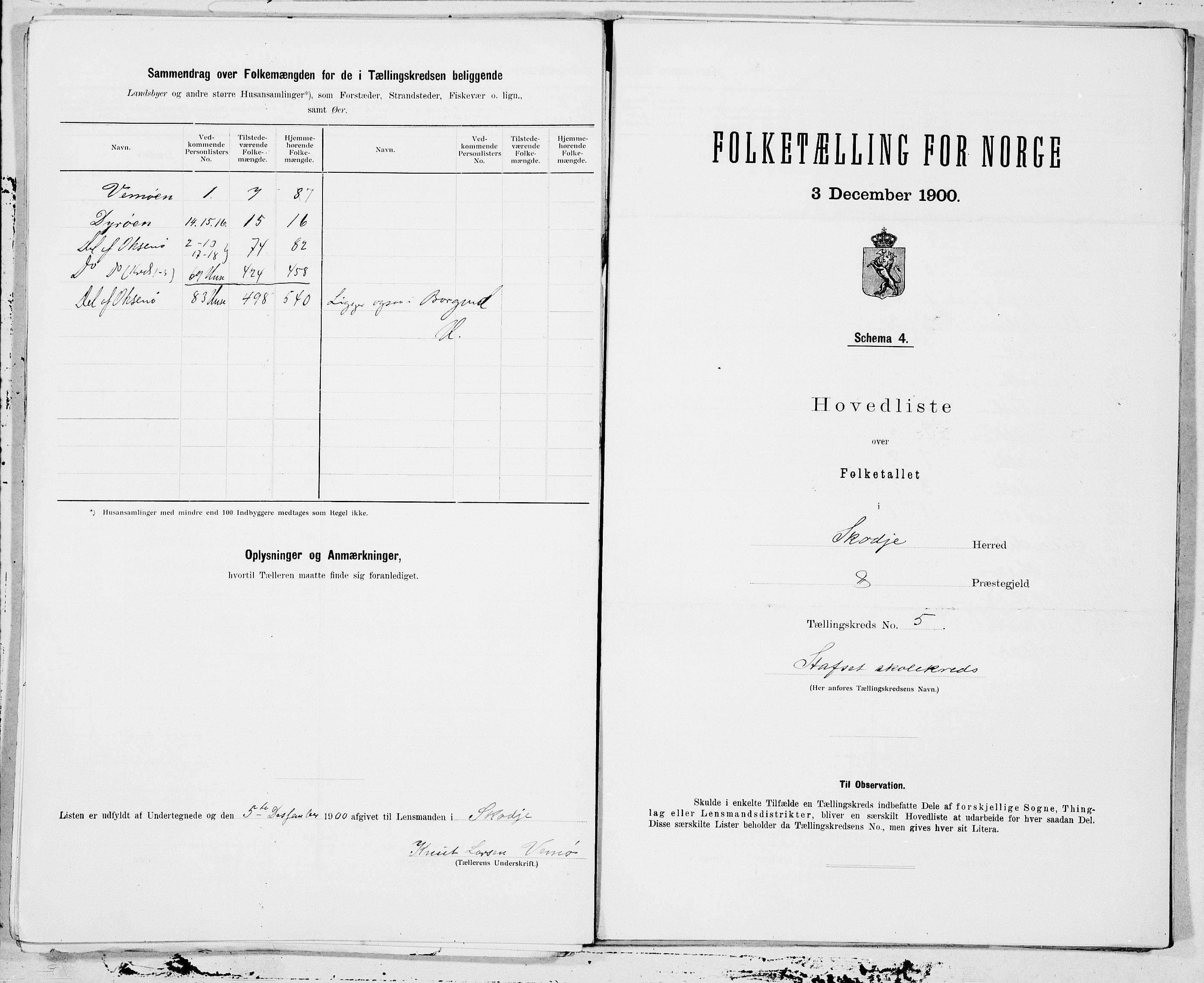 SAT, Folketelling 1900 for 1529 Skodje herred, 1900, s. 10