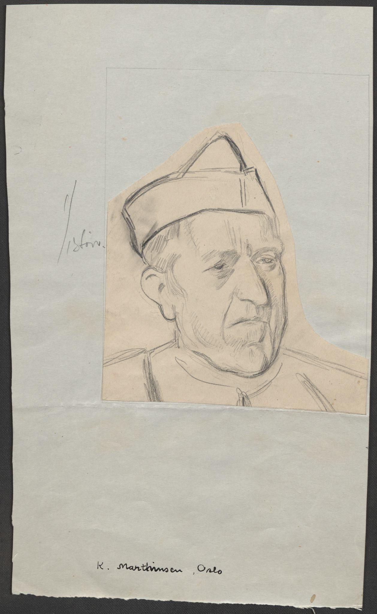 RA, Grøgaard, Joachim, F/L0002: Tegninger og tekster, 1942-1945, s. 96