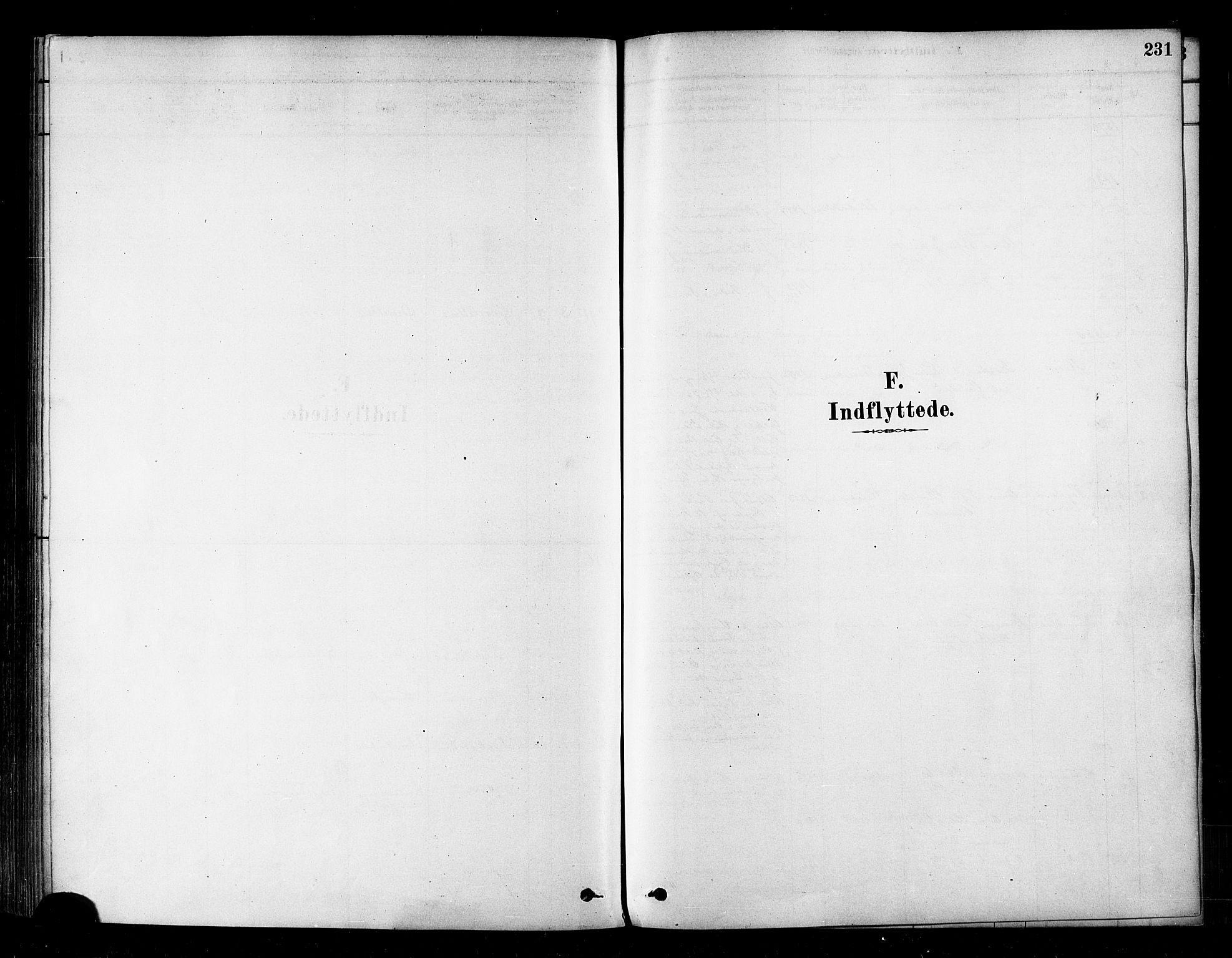 SATØ, Alta sokneprestembete, Ministerialbok nr. 2, 1879-1892, s. 231