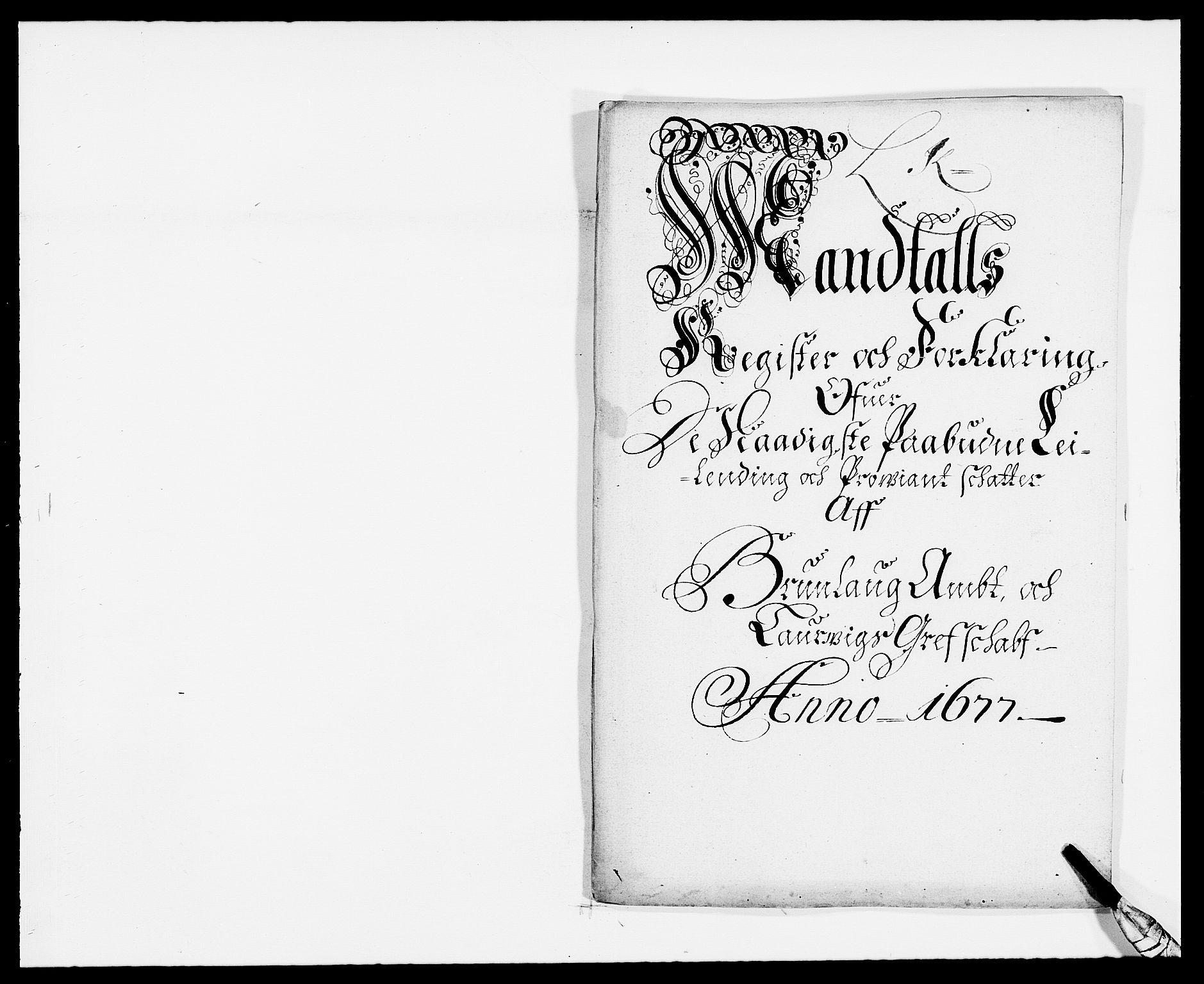 RA, Rentekammeret inntil 1814, Reviderte regnskaper, Fogderegnskap, R33/L1968: Fogderegnskap Larvik grevskap, 1675-1687, s. 19