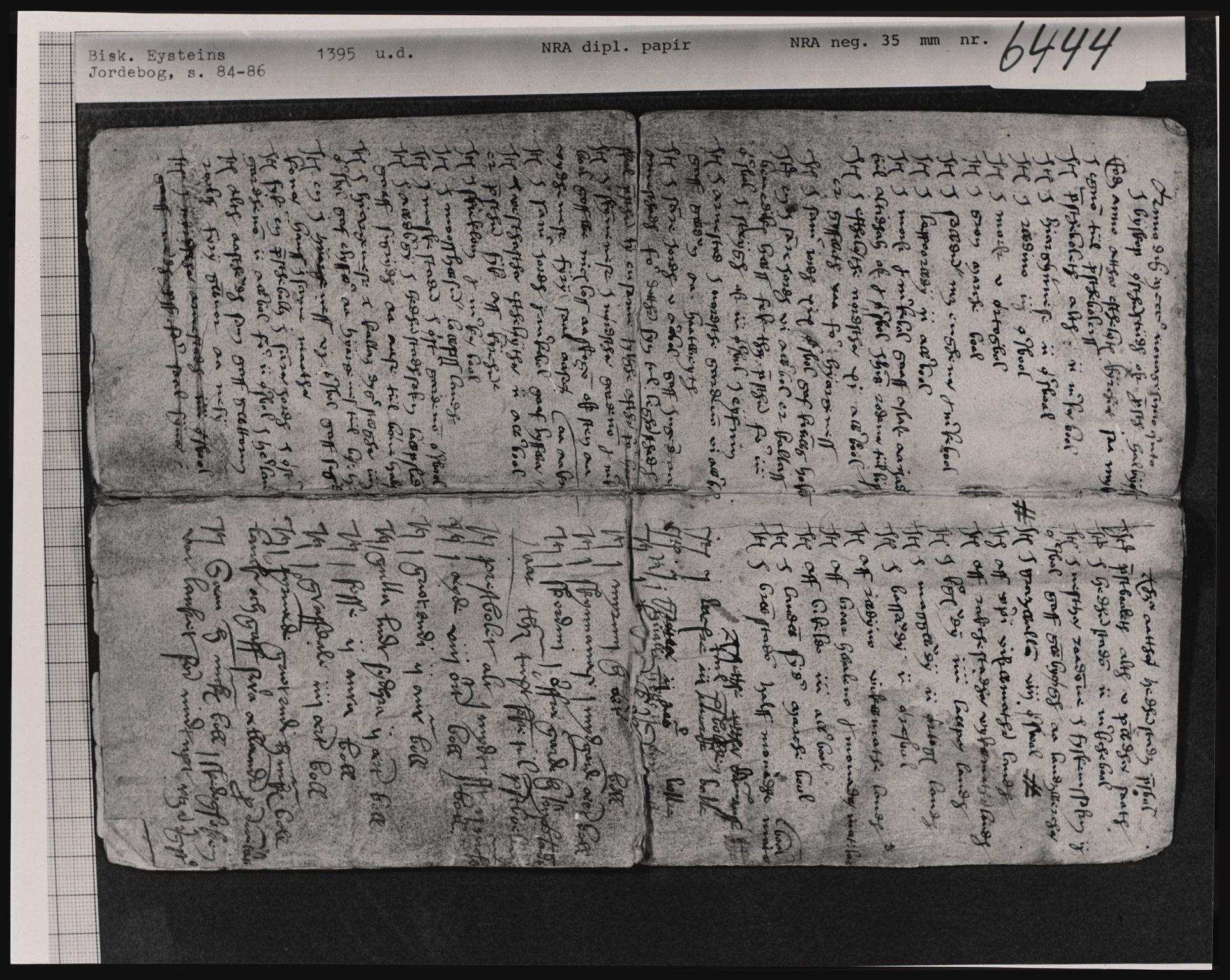 RA, Riksarkivets diplomsamling, F02, 1395-1570, s. 1