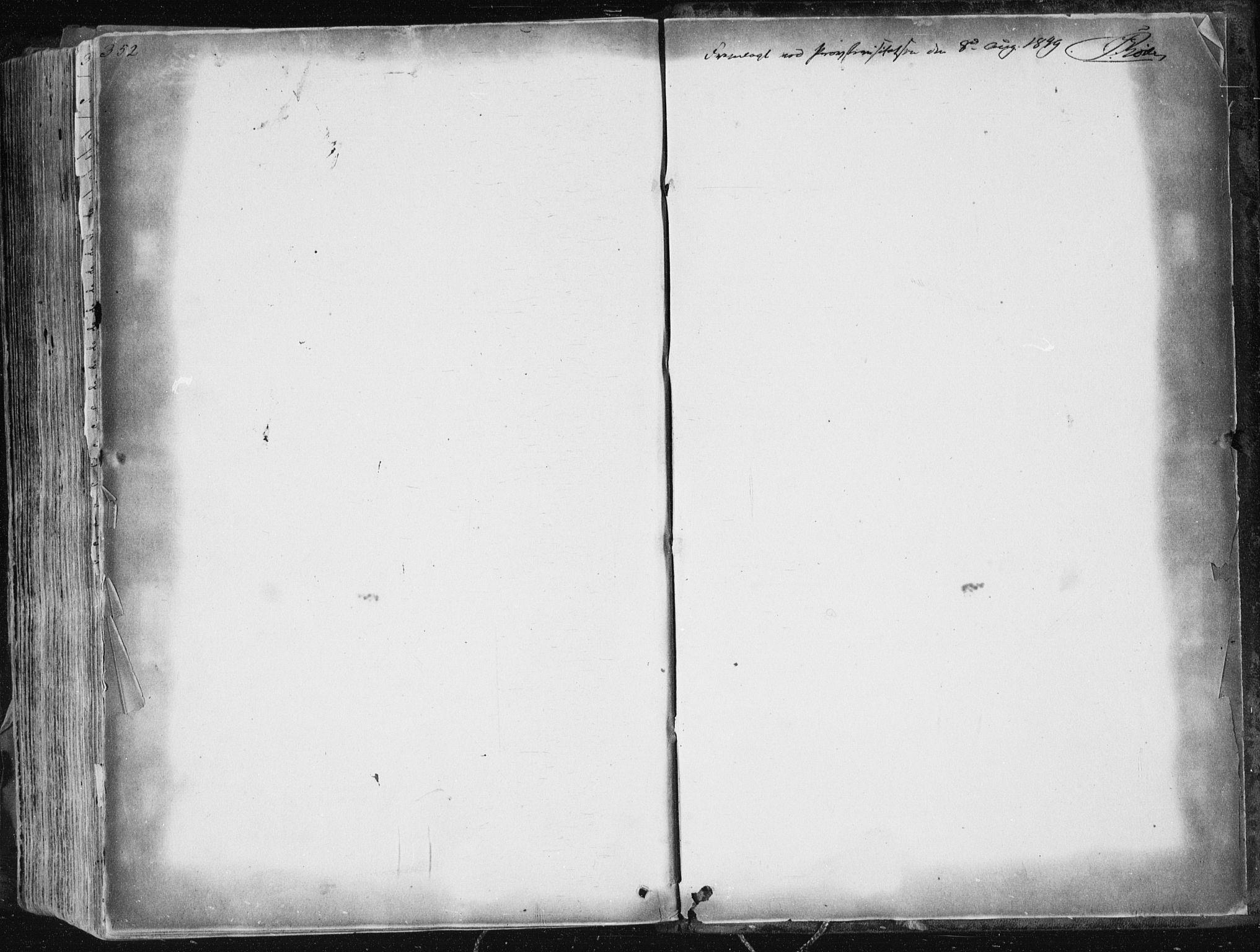 SAKO, Sannidal kirkebøker, F/Fa/L0007: Ministerialbok nr. 7, 1831-1854, s. 352