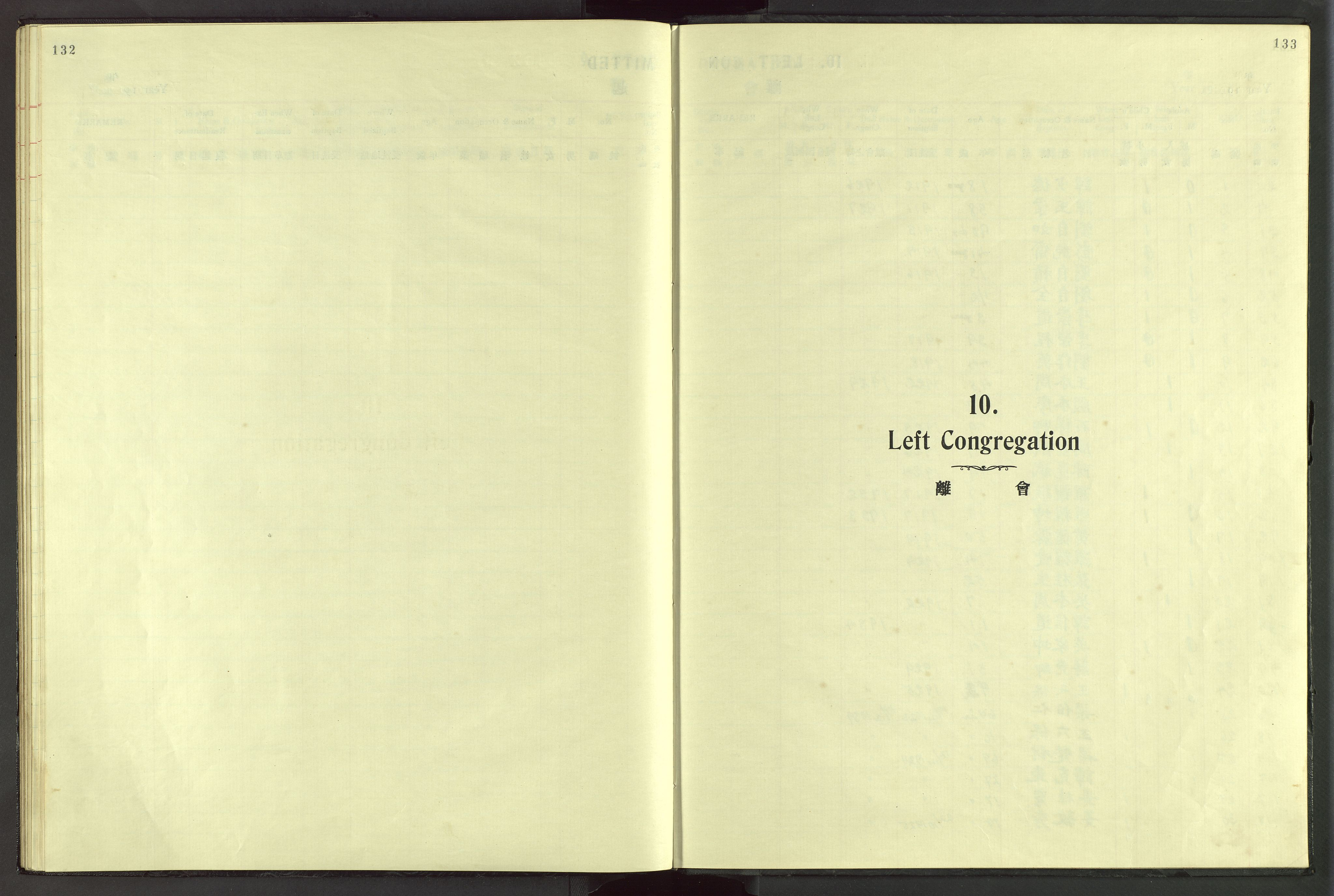 VID, Det Norske Misjonsselskap - utland - Kina (Hunan), Dm/L0045: Ministerialbok nr. 83, 1911-1948, s. 132-133