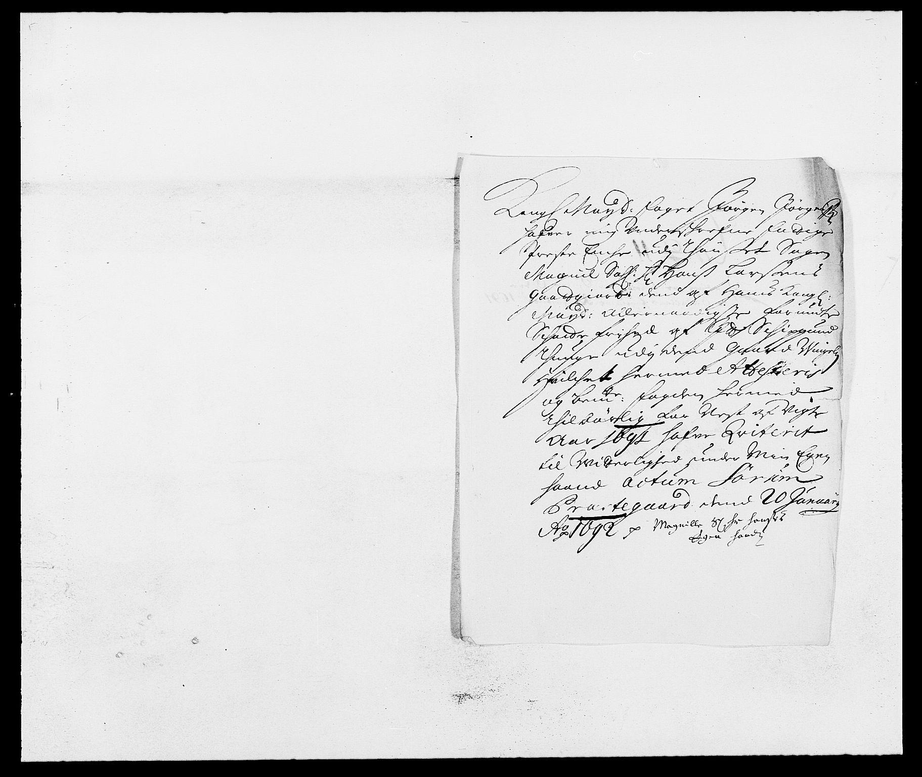 RA, Rentekammeret inntil 1814, Reviderte regnskaper, Fogderegnskap, R13/L0829: Fogderegnskap Solør, Odal og Østerdal, 1691, s. 49