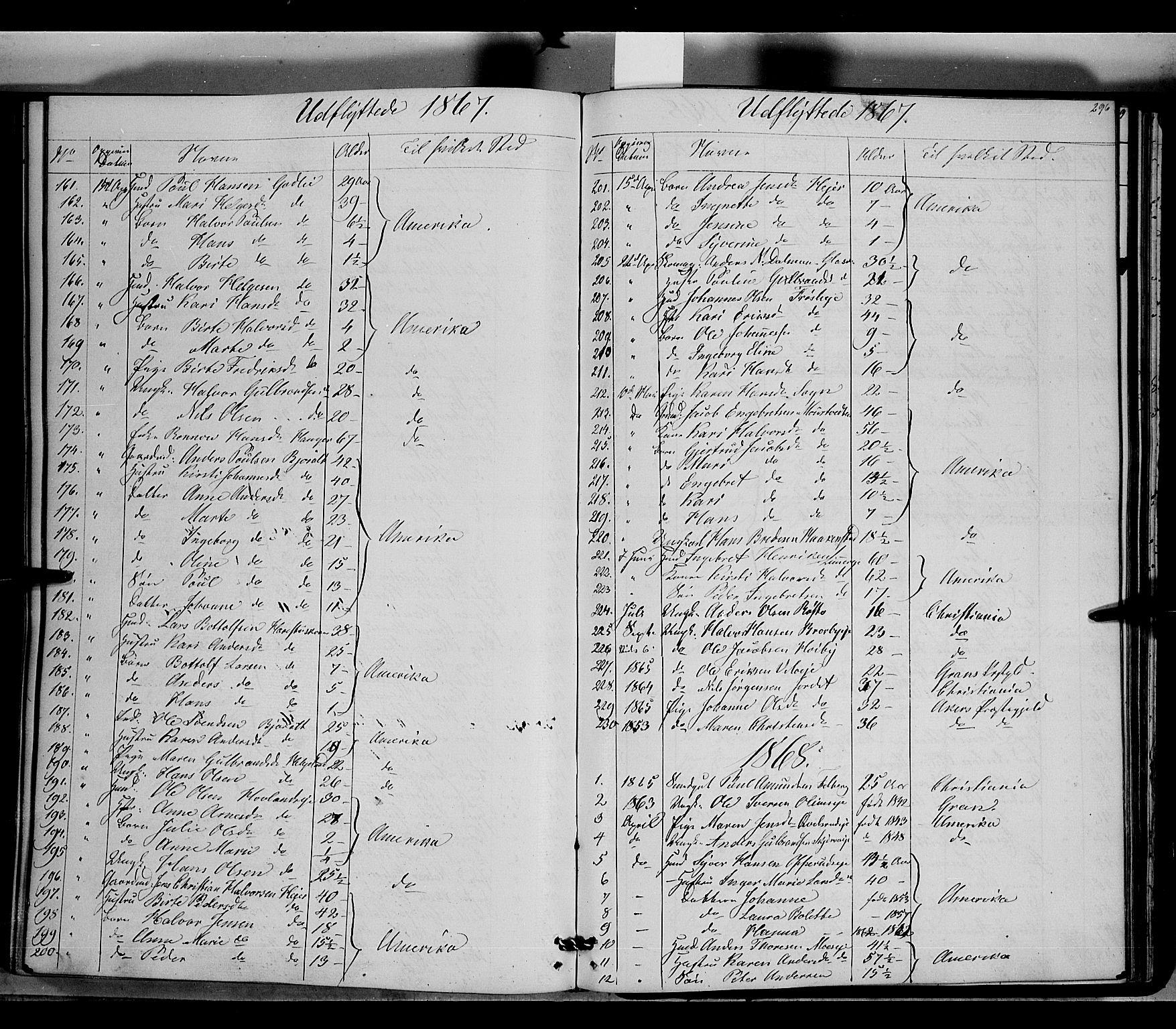 SAH, Jevnaker prestekontor, Ministerialbok nr. 7, 1858-1876, s. 296