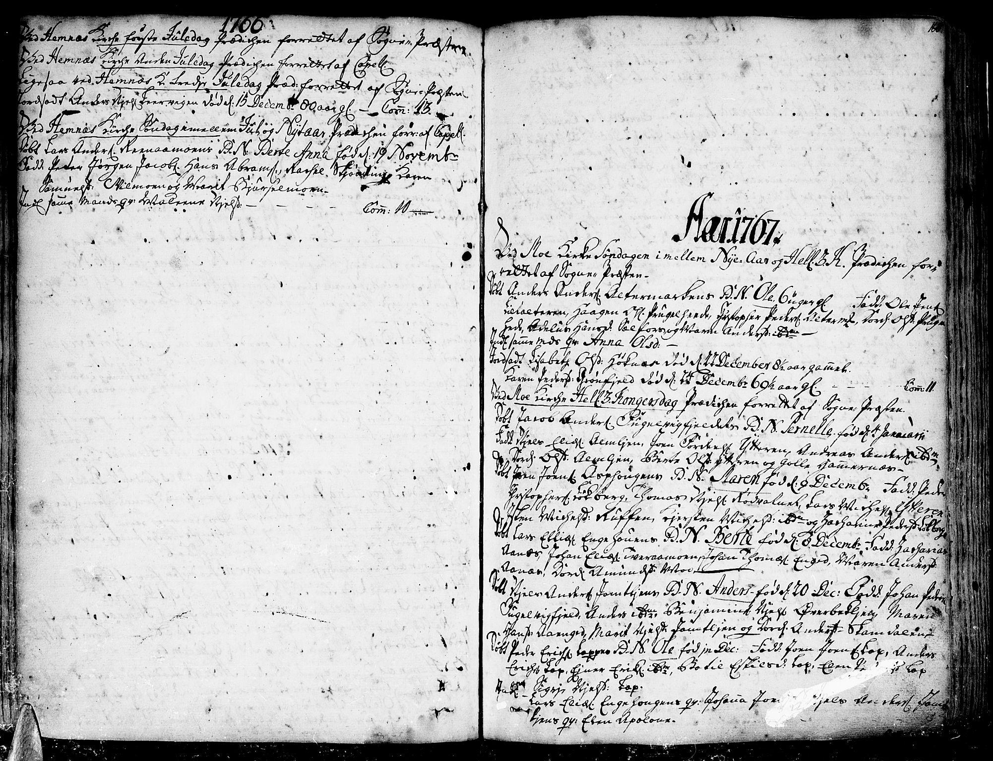 SAT, Ministerialprotokoller, klokkerbøker og fødselsregistre - Nordland, 825/L0348: Ministerialbok nr. 825A04, 1752-1788, s. 160