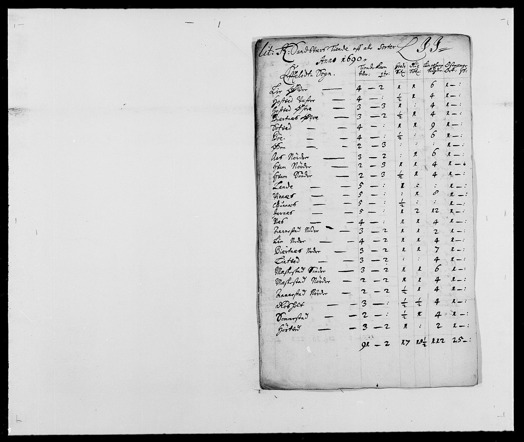 RA, Rentekammeret inntil 1814, Reviderte regnskaper, Fogderegnskap, R24/L1573: Fogderegnskap Numedal og Sandsvær, 1687-1691, s. 470