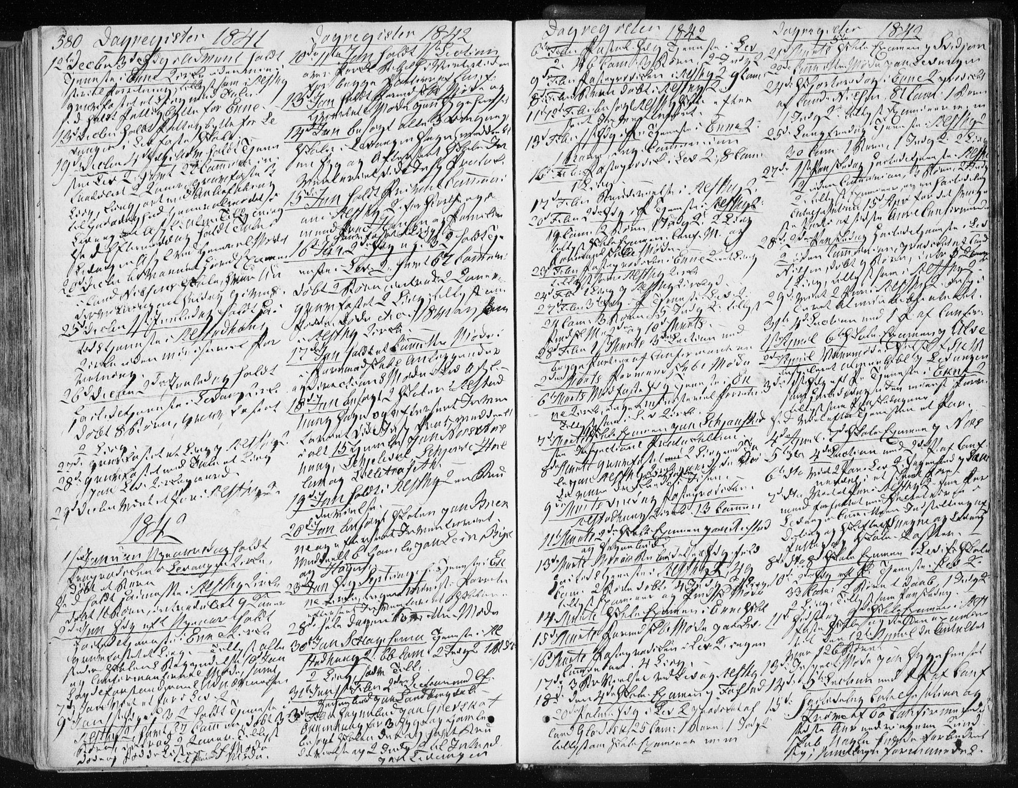 SAT, Ministerialprotokoller, klokkerbøker og fødselsregistre - Nord-Trøndelag, 717/L0154: Ministerialbok nr. 717A06 /1, 1836-1849, s. 580
