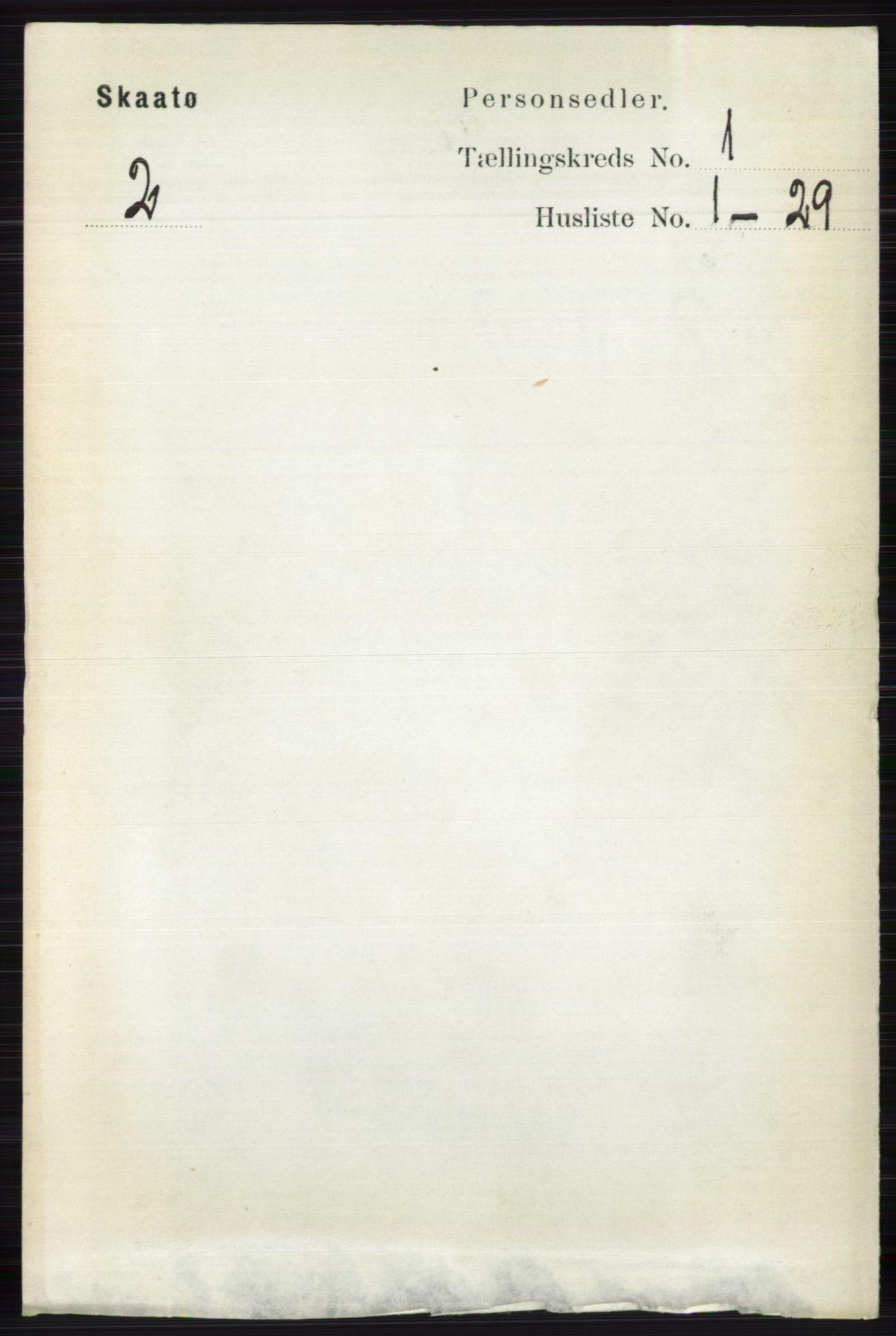 RA, Folketelling 1891 for 0815 Skåtøy herred, 1891, s. 91