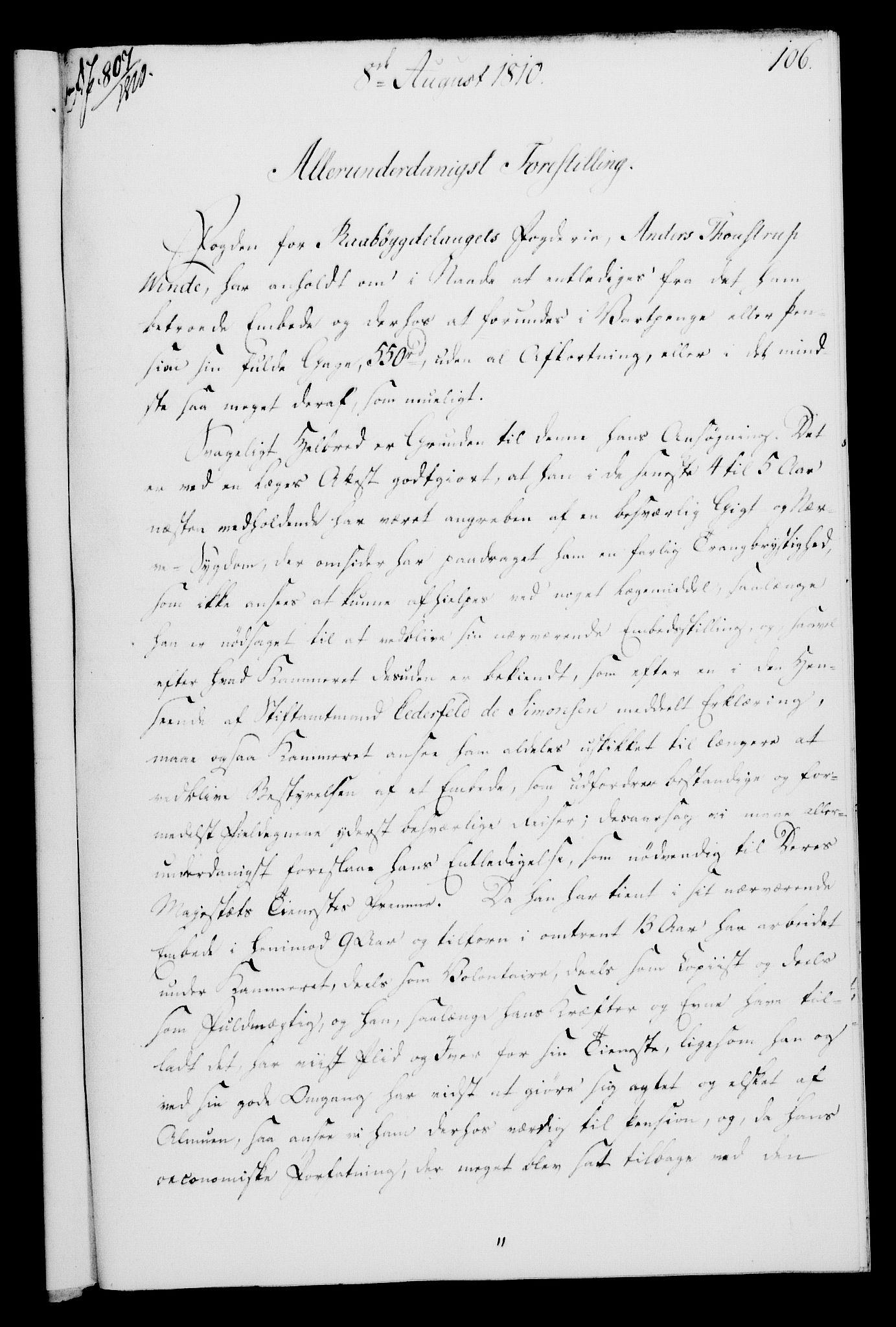 RA, Rentekammeret, Kammerkanselliet, G/Gf/Gfa/L0092: Norsk relasjons- og resolusjonsprotokoll (merket RK 52.92), 1810, s. 409