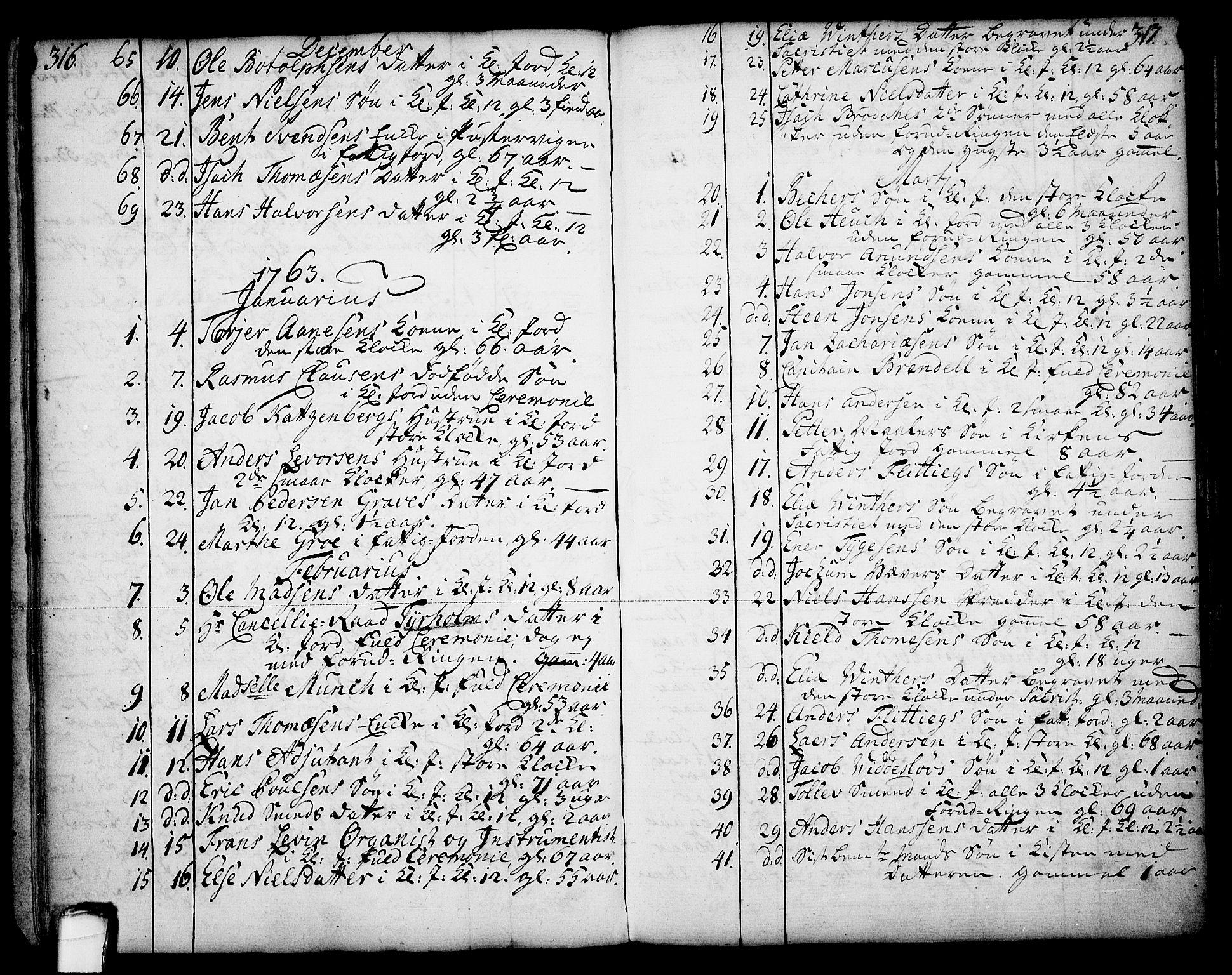 SAKO, Skien kirkebøker, F/Fa/L0003: Ministerialbok nr. 3, 1755-1791, s. 316-317