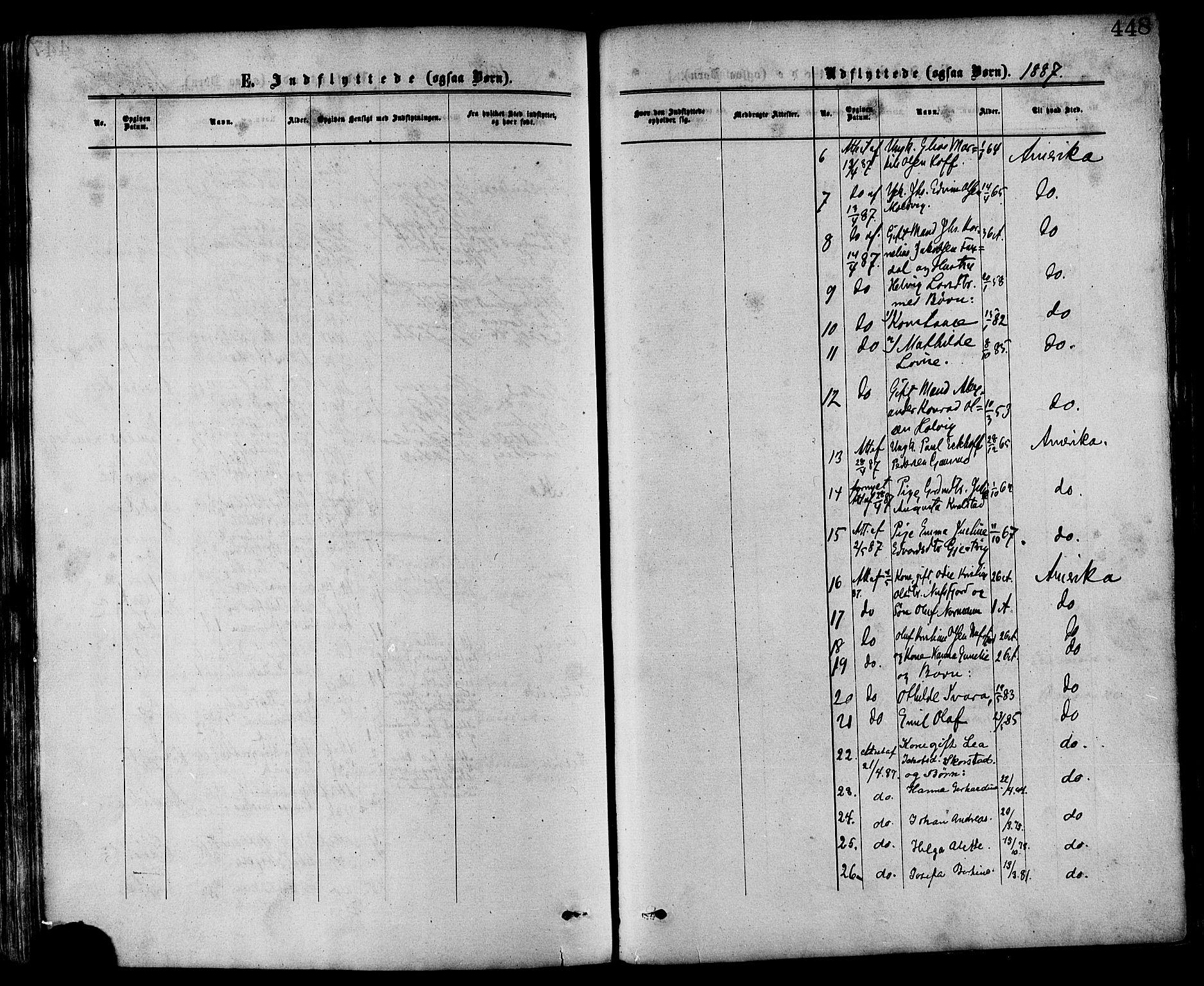 SAT, Ministerialprotokoller, klokkerbøker og fødselsregistre - Nord-Trøndelag, 773/L0616: Ministerialbok nr. 773A07, 1870-1887, s. 448