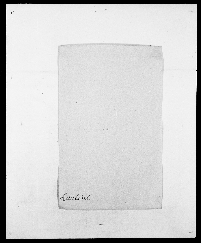 SAO, Delgobe, Charles Antoine - samling, D/Da/L0023: Lau - Lirvyn, s. 13