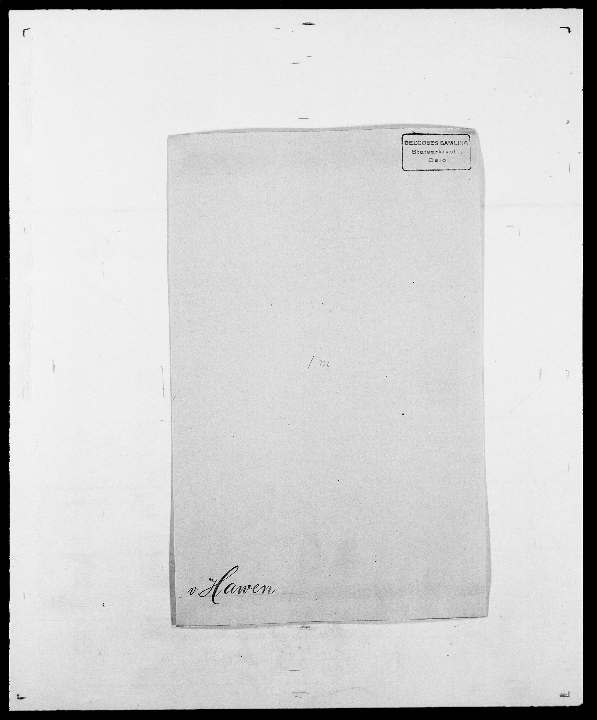 SAO, Delgobe, Charles Antoine - samling, D/Da/L0016: Hamborg - Hektoen, s. 633
