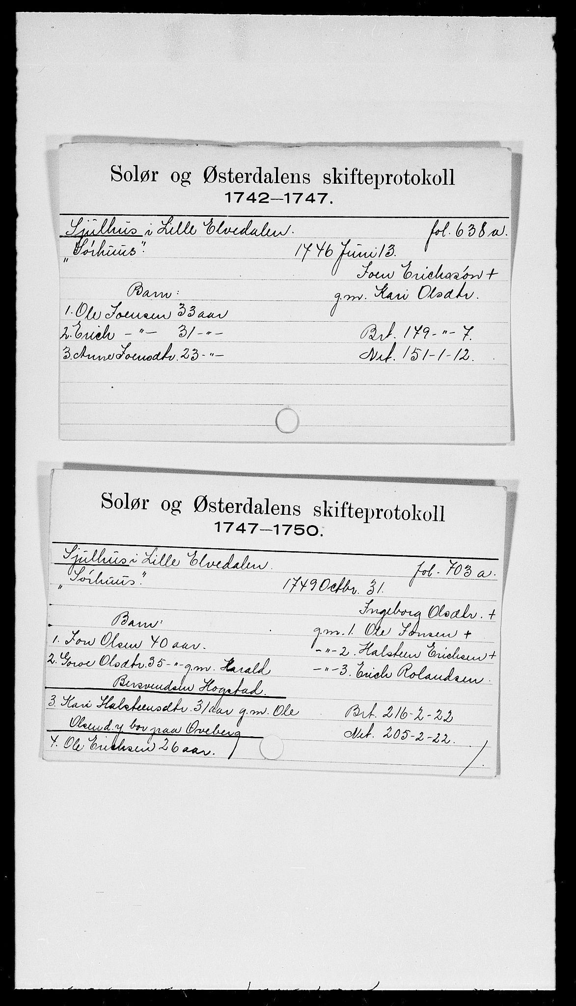 SAH, Solør og Østerdalen sorenskriveri, J, 1716-1774, s. 9463