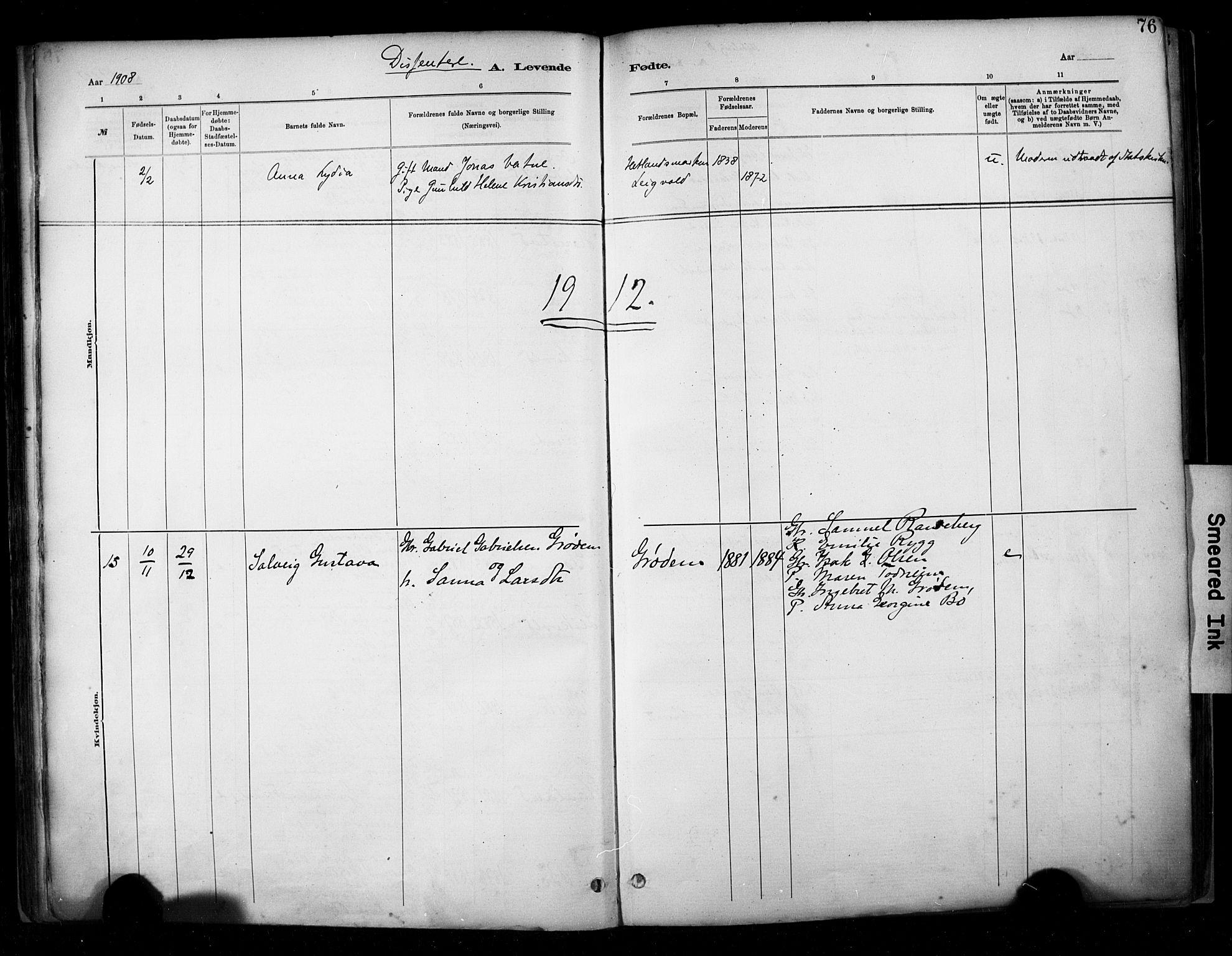 SAST, Hetland sokneprestkontor, 30/30BA/L0009: Ministerialbok nr. A 9, 1882-1918, s. 76