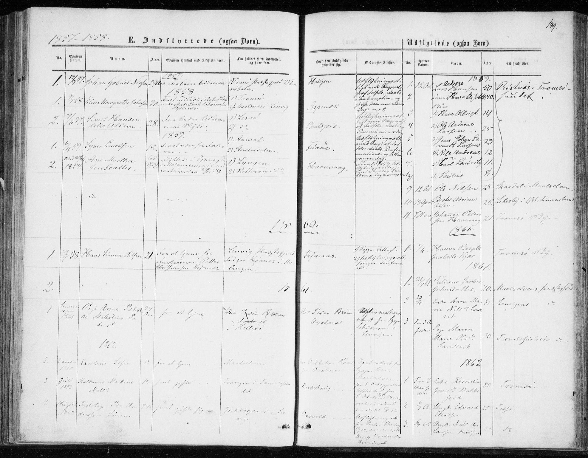SATØ, Balsfjord sokneprestembete, Ministerialbok nr. 1, 1858-1870, s. 149