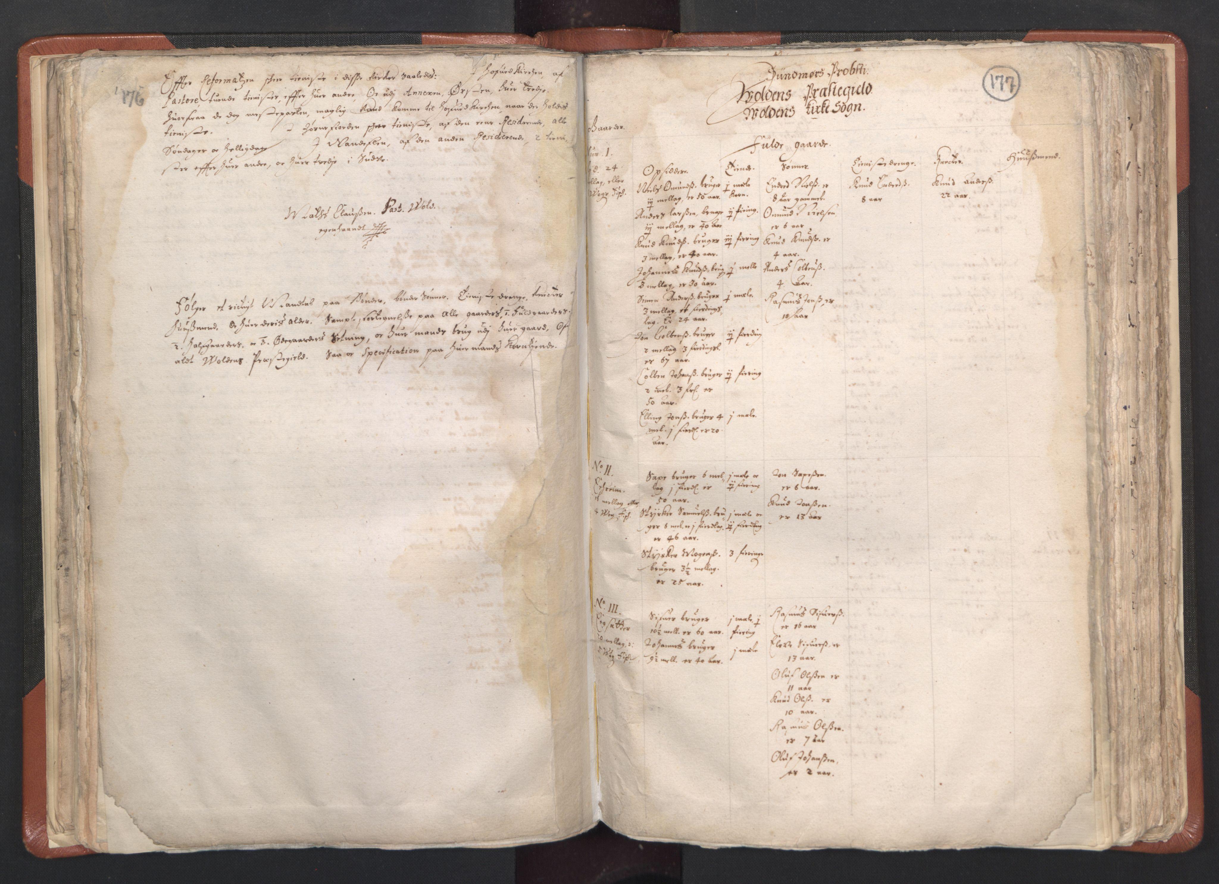 RA, Sogneprestenes manntall 1664-1666, nr. 26: Sunnmøre prosti, 1664-1666, s. 176-177