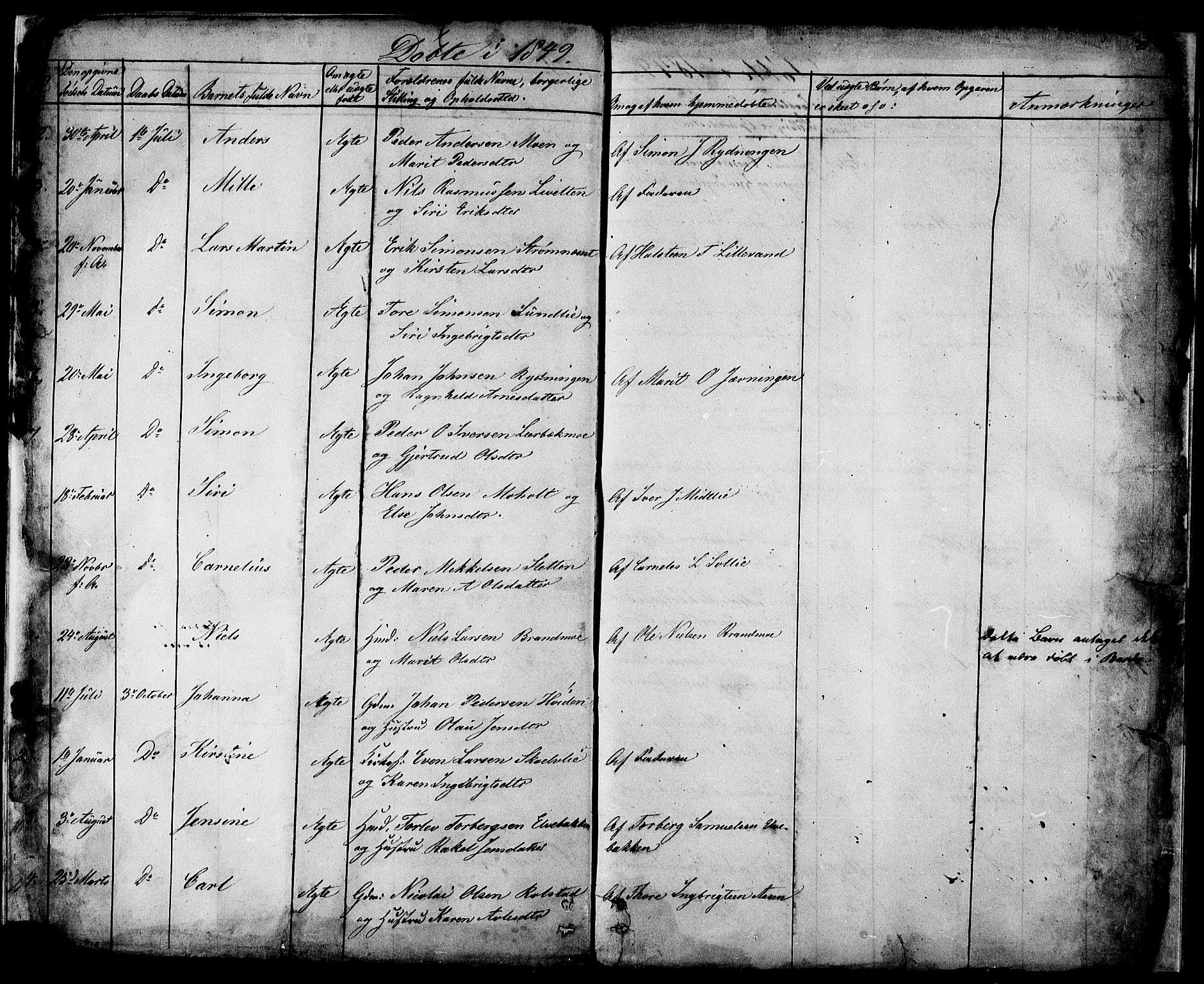 SATØ, Målselv sokneprestembete, Ministerialbok nr. 2, 1832-1850, s. 34-35