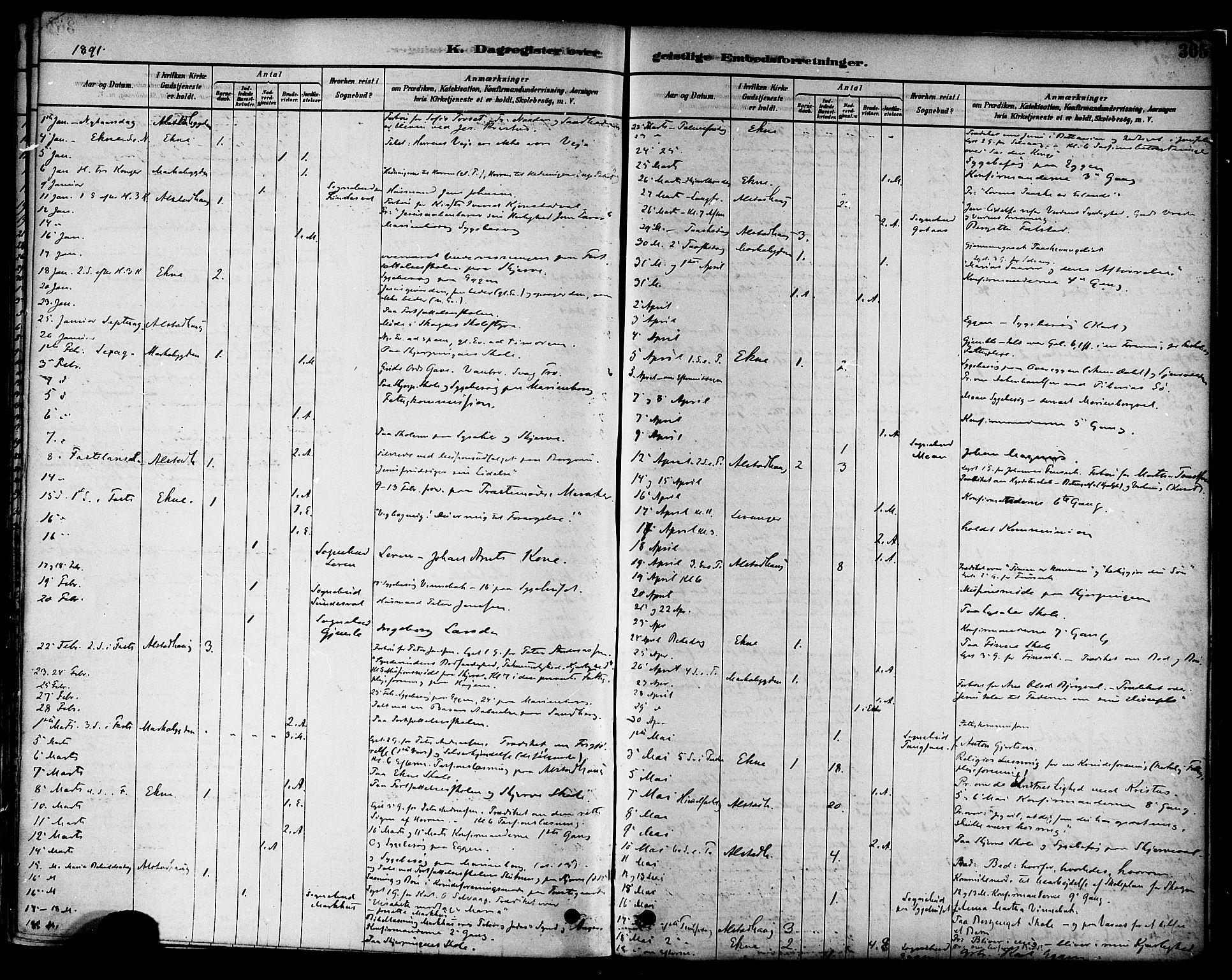 SAT, Ministerialprotokoller, klokkerbøker og fødselsregistre - Nord-Trøndelag, 717/L0159: Ministerialbok nr. 717A09, 1878-1898, s. 365