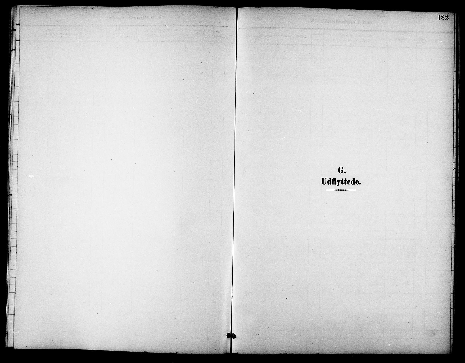 SAT, Ministerialprotokoller, klokkerbøker og fødselsregistre - Sør-Trøndelag, 621/L0460: Klokkerbok nr. 621C03, 1896-1914, s. 182