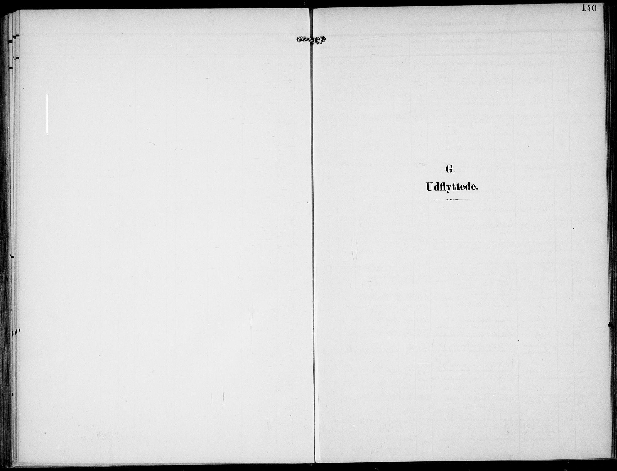 SAKO, Lunde kirkebøker, F/Fa/L0004: Ministerialbok nr. I 4, 1902-1913, s. 140
