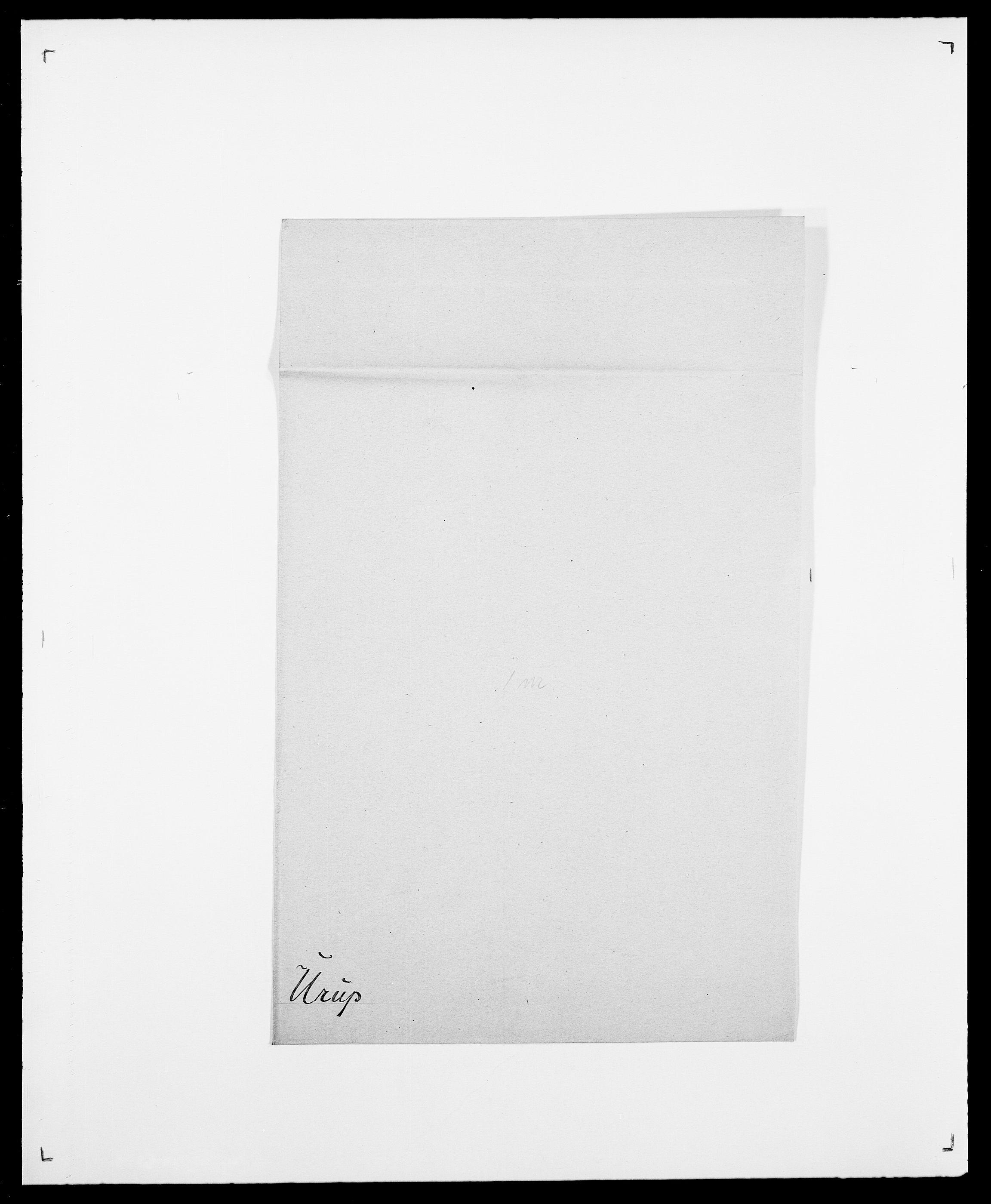 SAO, Delgobe, Charles Antoine - samling, D/Da/L0039: Thorsen - Urup, s. 783
