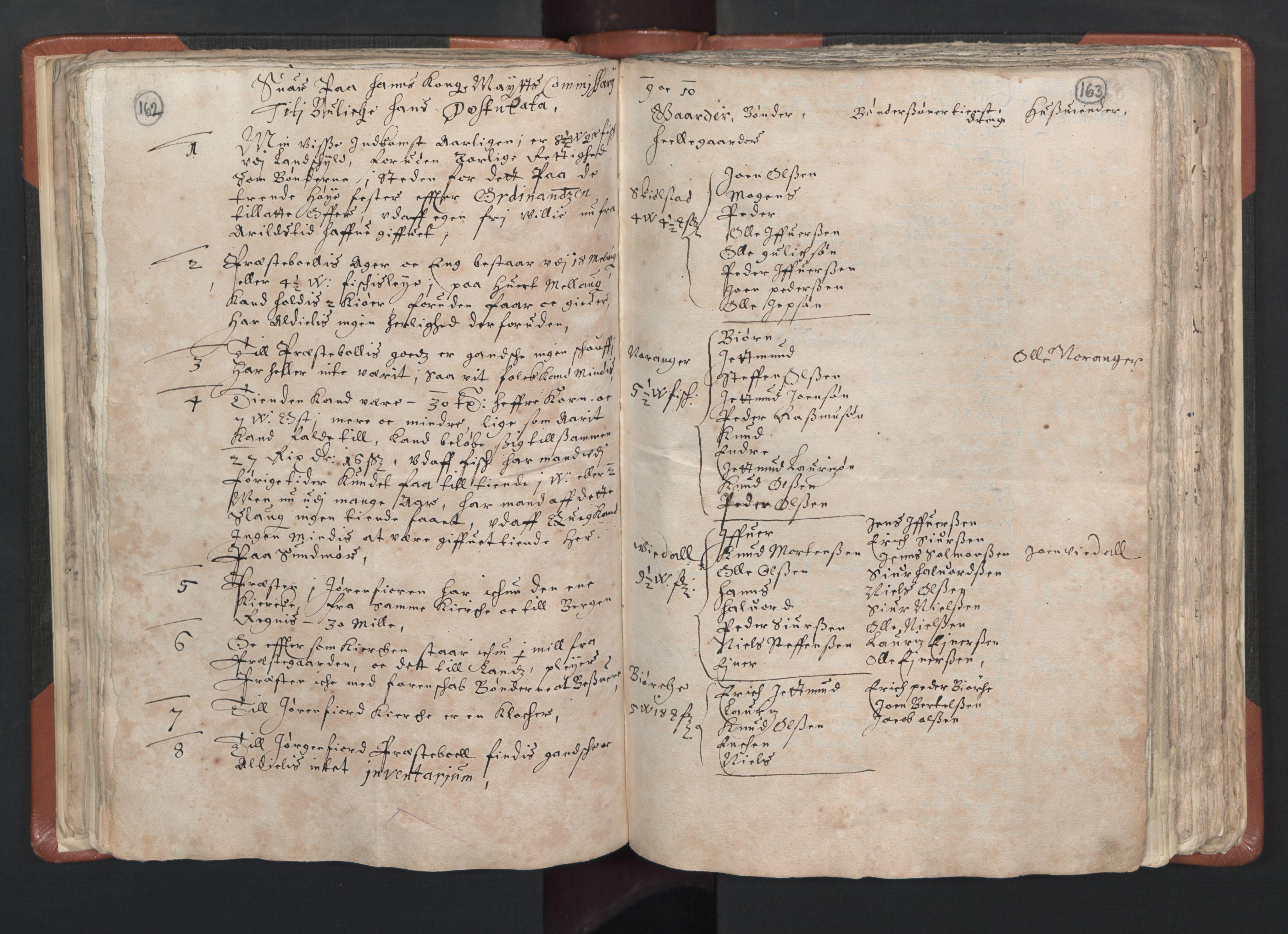 RA, Sogneprestenes manntall 1664-1666, nr. 26: Sunnmøre prosti, 1664-1666, s. 162-163