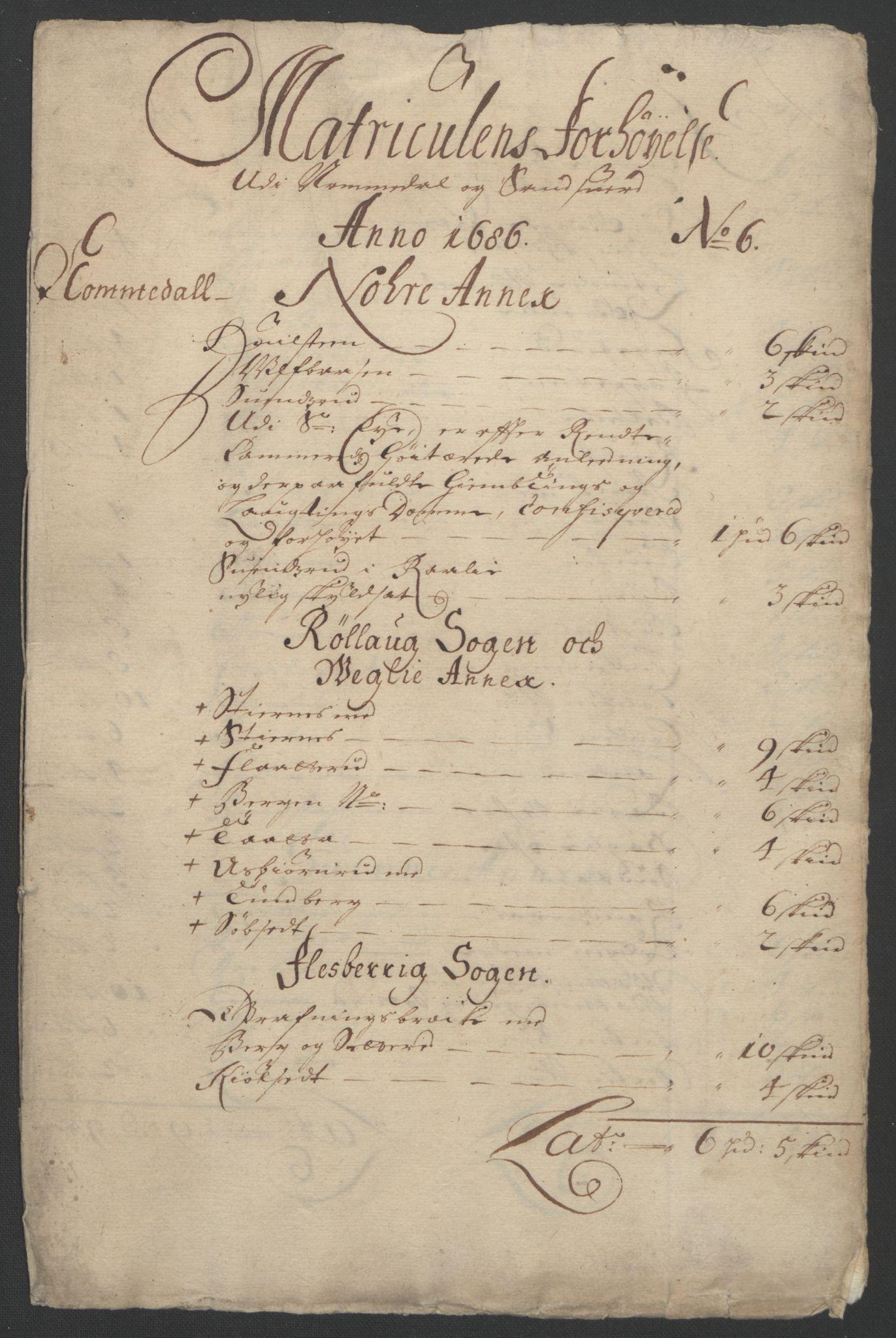 RA, Rentekammeret inntil 1814, Reviderte regnskaper, Fogderegnskap, R24/L1572: Fogderegnskap Numedal og Sandsvær, 1679-1686, s. 144
