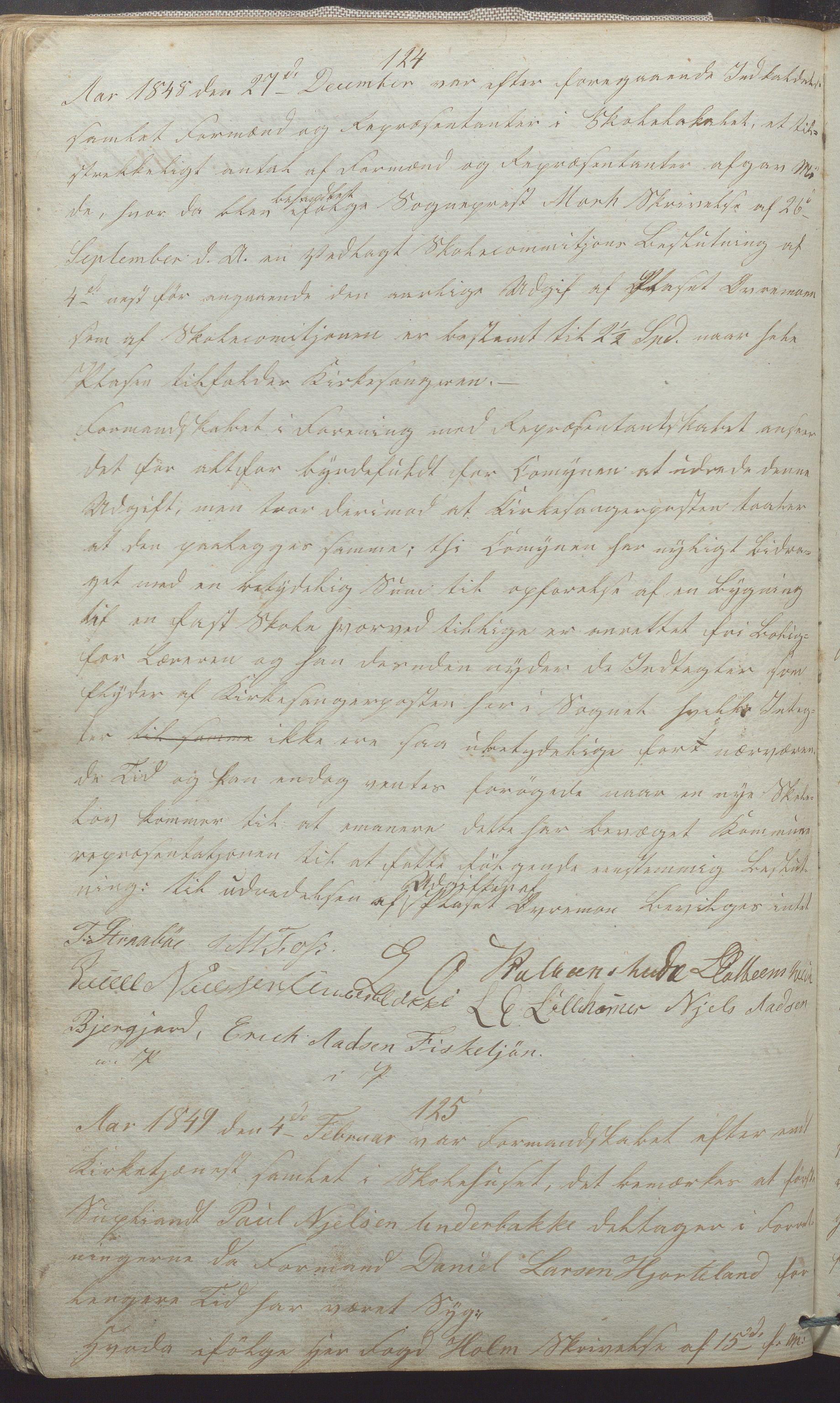 IKAR, Suldal kommune - Formannskapet/Rådmannen, A/Aa/L0001: Møtebok, 1837-1876, s. 78b