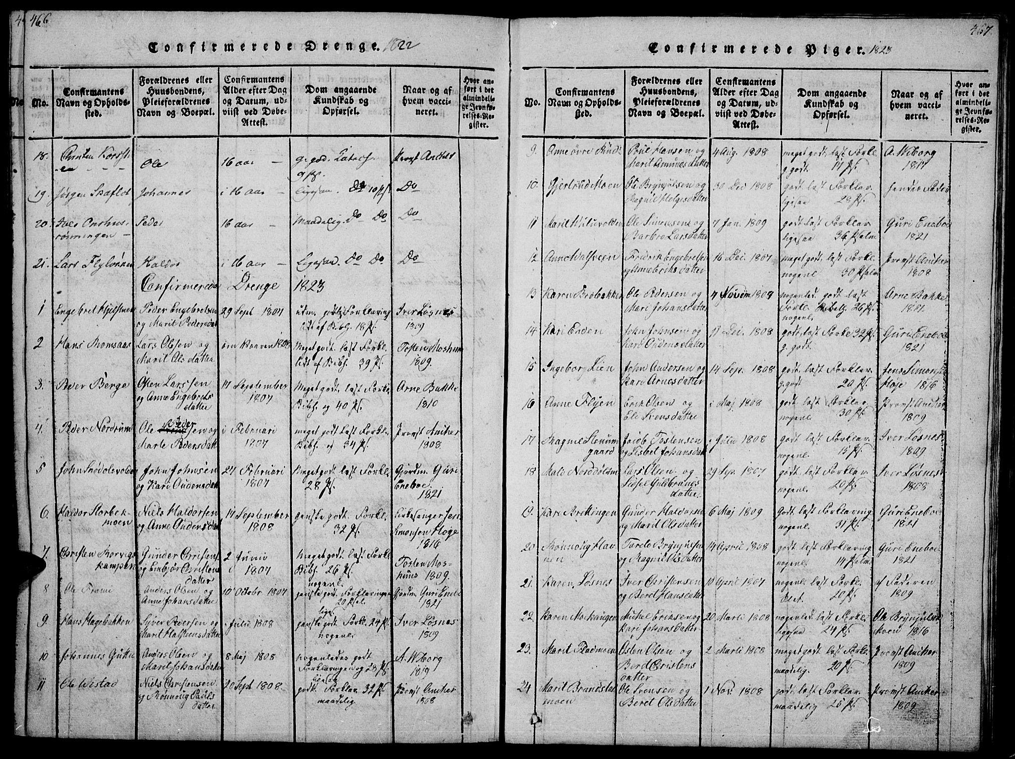 SAH, Ringebu prestekontor, Ministerialbok nr. 4, 1821-1839, s. 466-467
