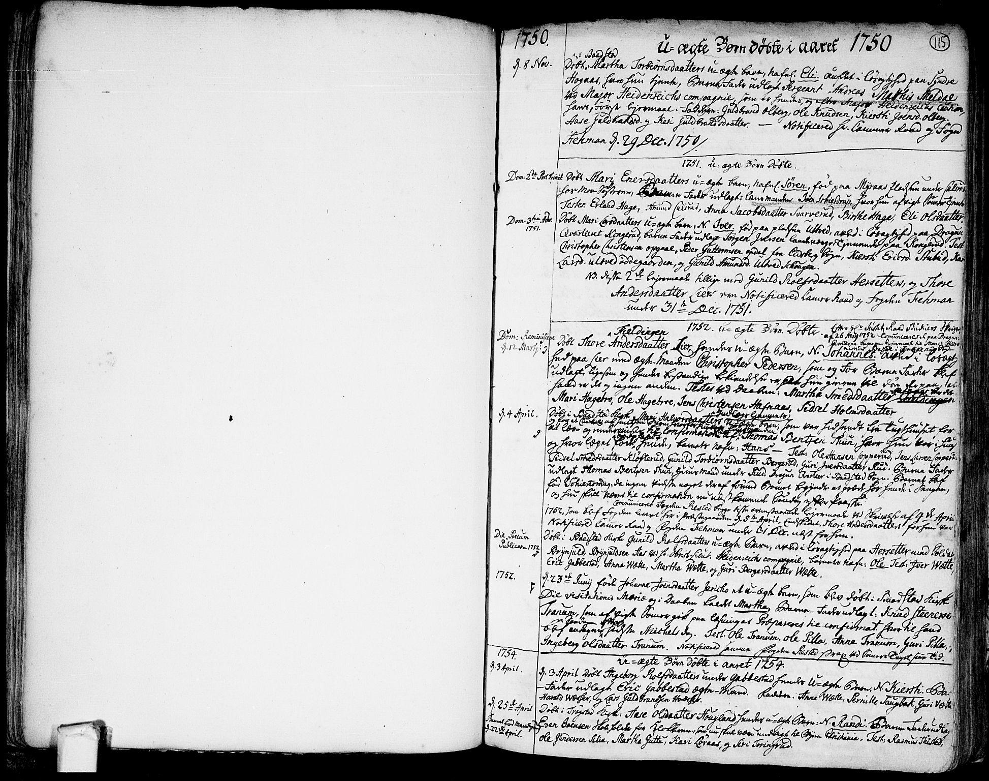 SAO, Trøgstad prestekontor Kirkebøker, F/Fa/L0004: Ministerialbok nr. I 4, 1750-1784, s. 115