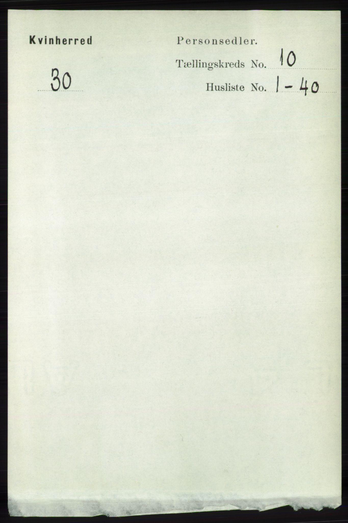 RA, Folketelling 1891 for 1224 Kvinnherad herred, 1891, s. 3562