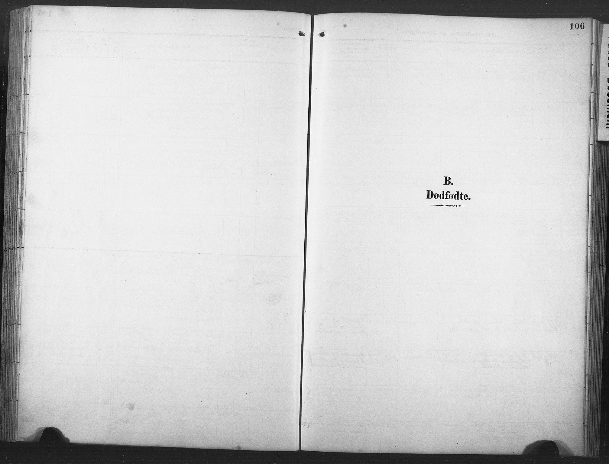 SAT, Ministerialprotokoller, klokkerbøker og fødselsregistre - Nord-Trøndelag, 789/L0706: Klokkerbok nr. 789C01, 1888-1931, s. 106