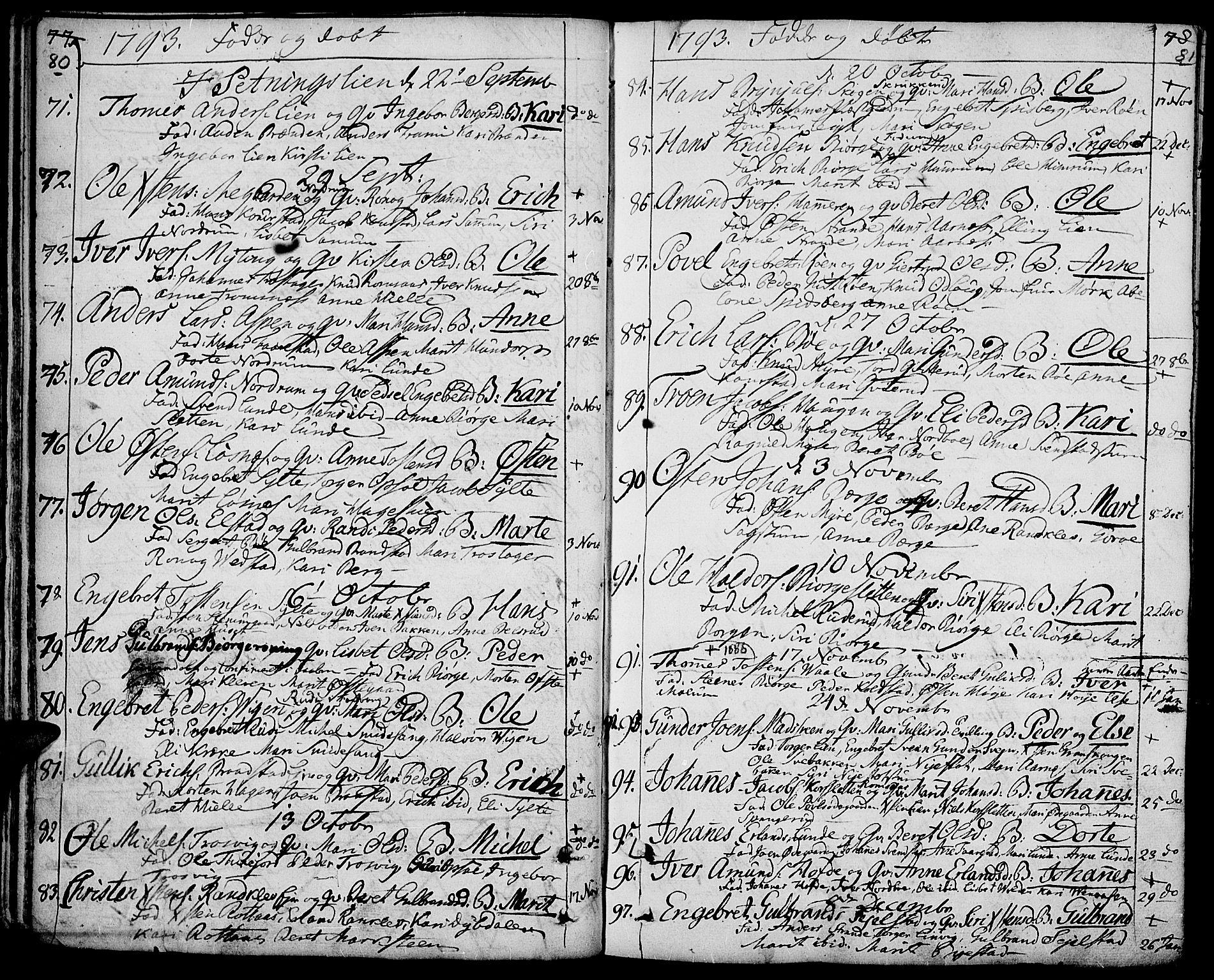SAH, Ringebu prestekontor, Ministerialbok nr. 3, 1781-1820, s. 80-81