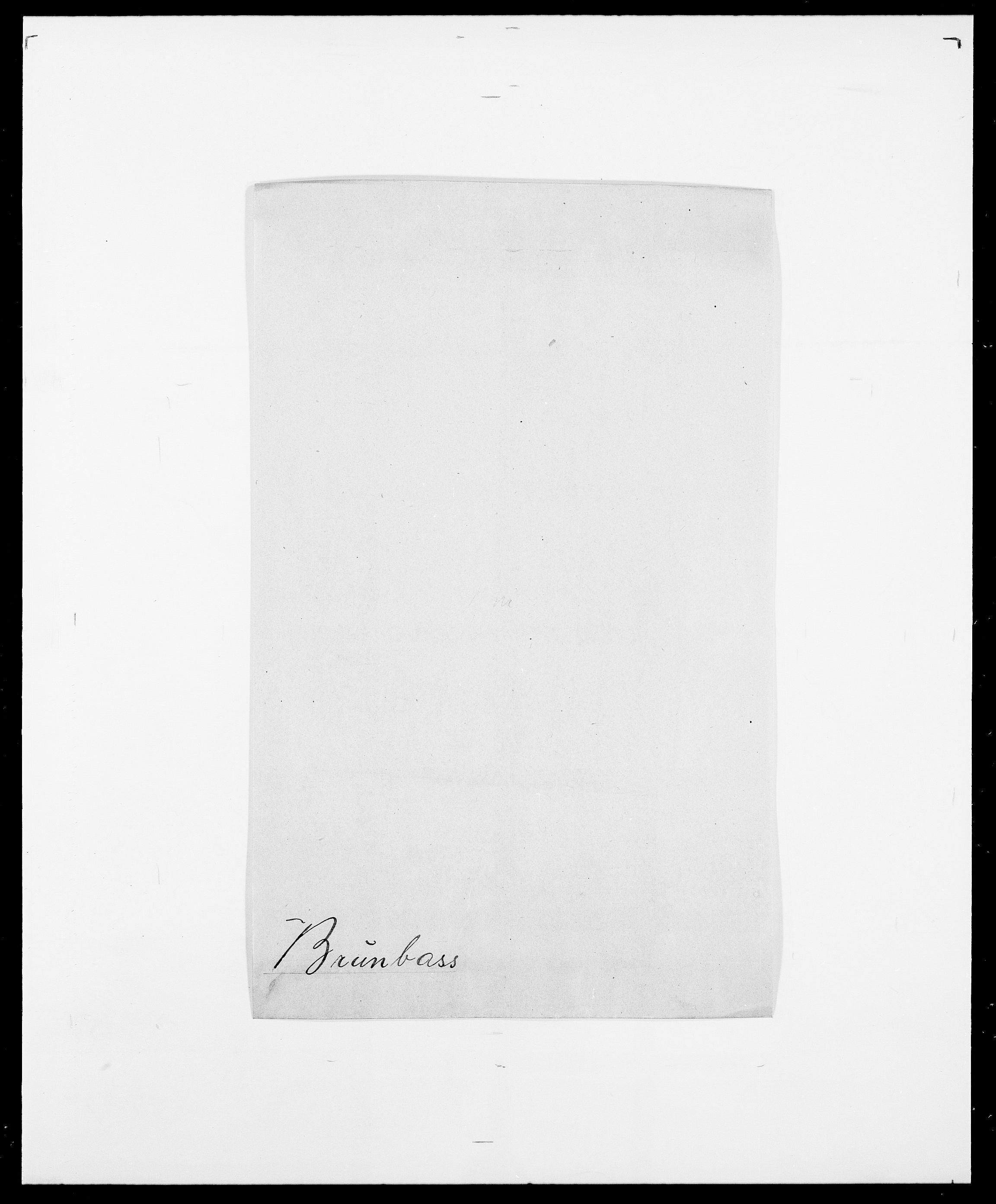 SAO, Delgobe, Charles Antoine - samling, D/Da/L0006: Brambani - Brønø, s. 811