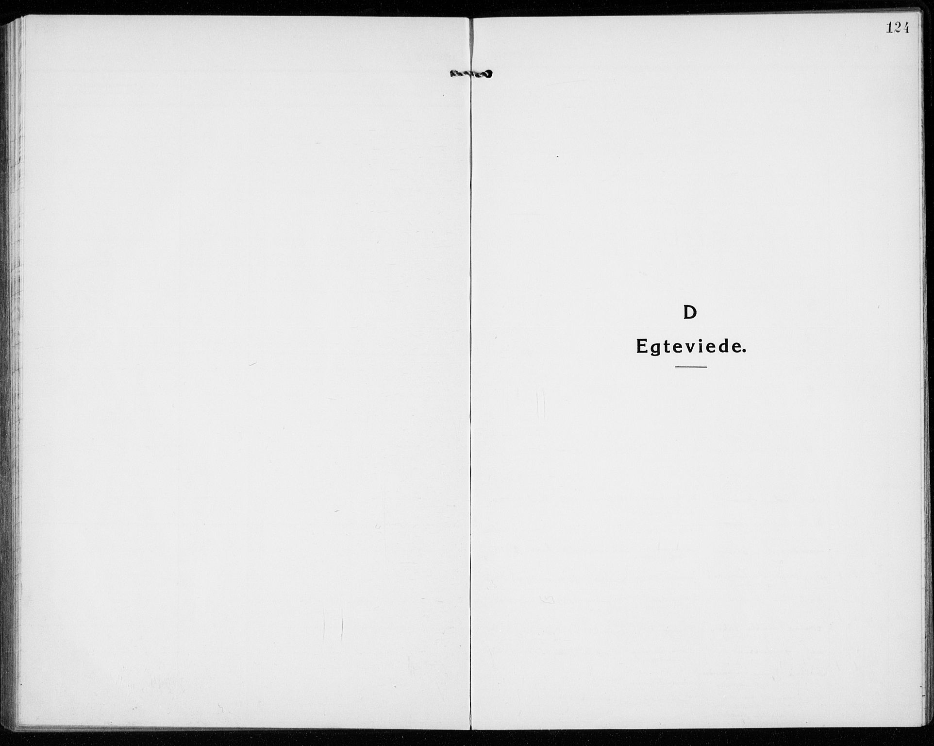 SAKO, Sandefjord kirkebøker, G/Ga/L0004: Klokkerbok nr. 4, 1920-1931, s. 124